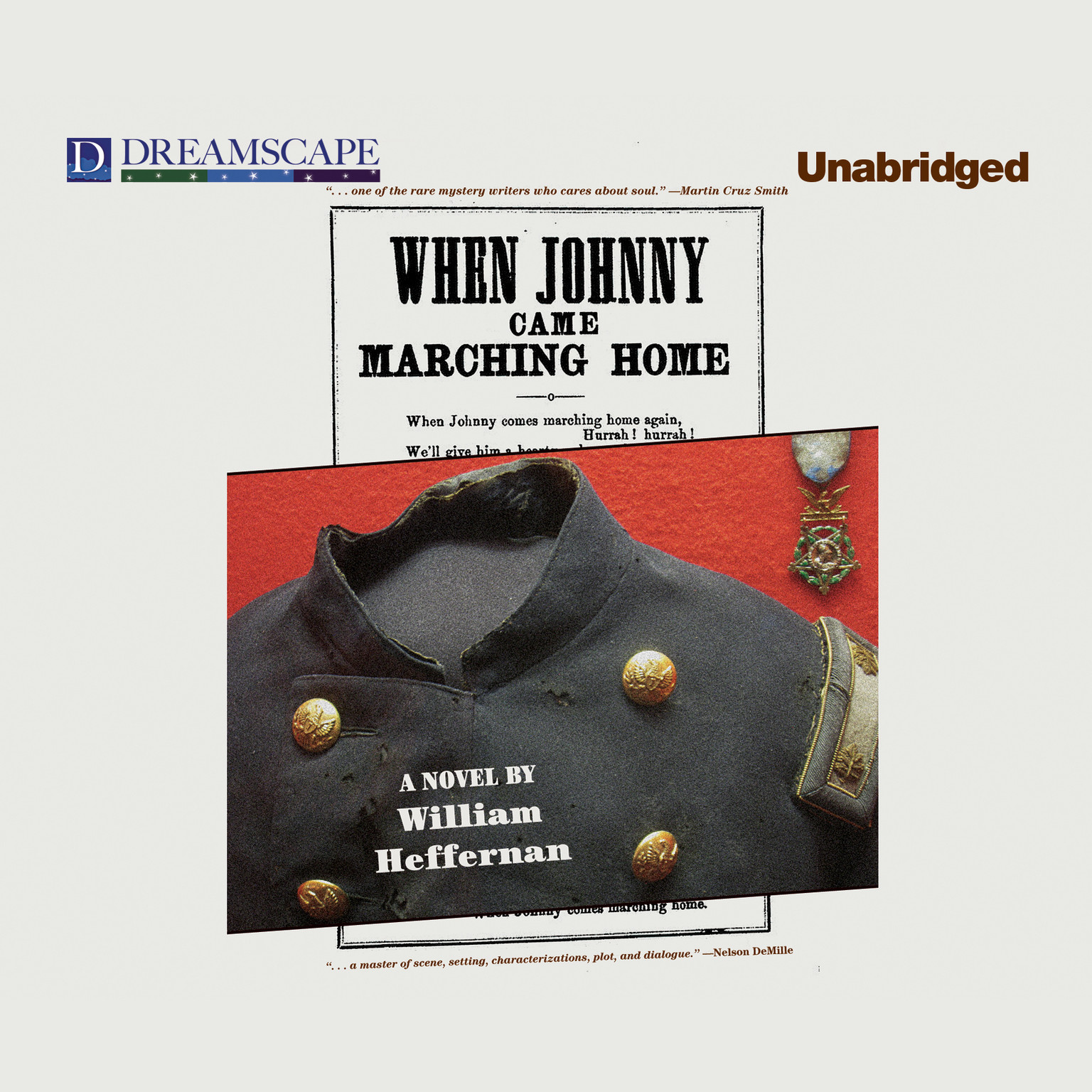 Printable When Johnny Came Marching Home Audiobook Cover Art