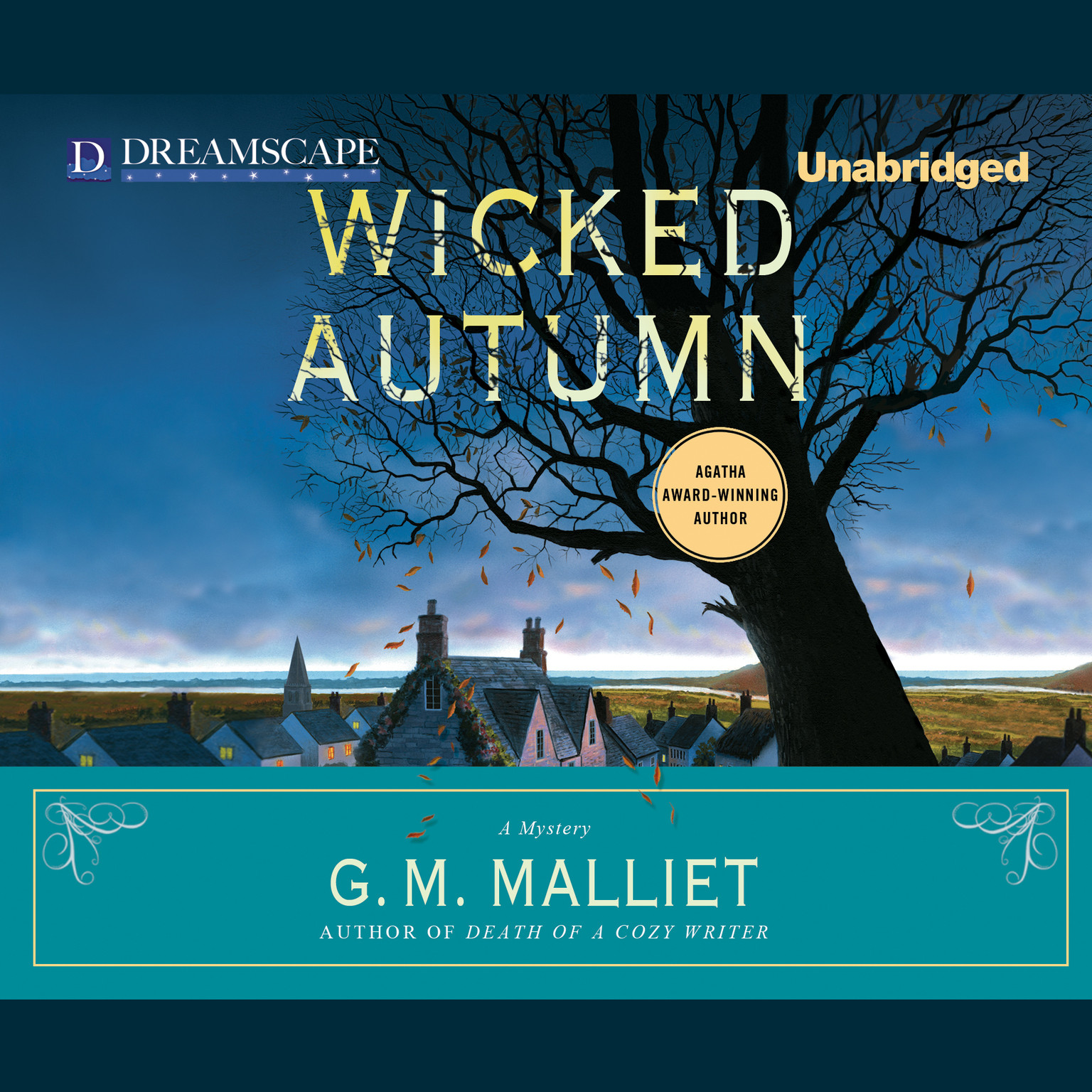 Printable Wicked Autumn Audiobook Cover Art