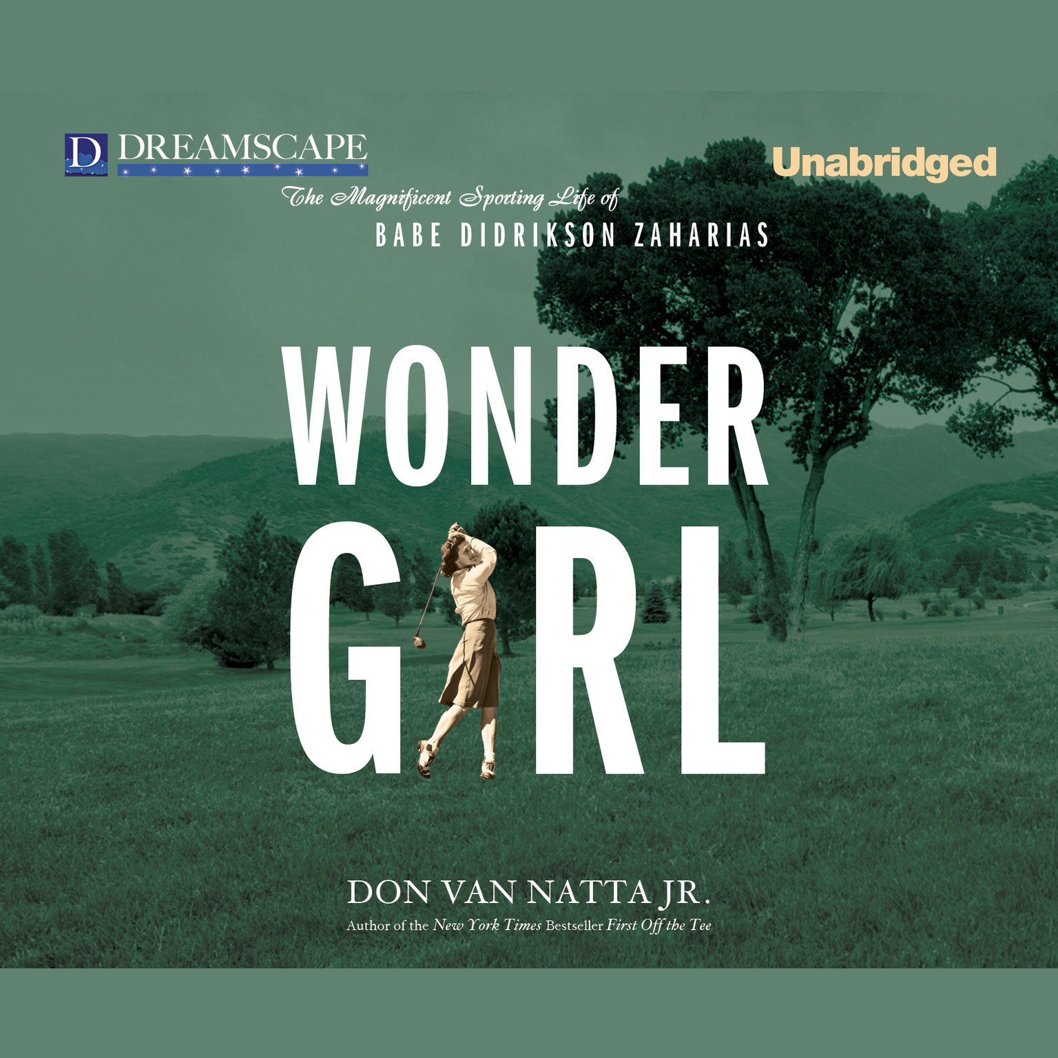 Printable Wonder Girl: The Magnificent Sporting Life of Babe Didrikson Za Audiobook Cover Art