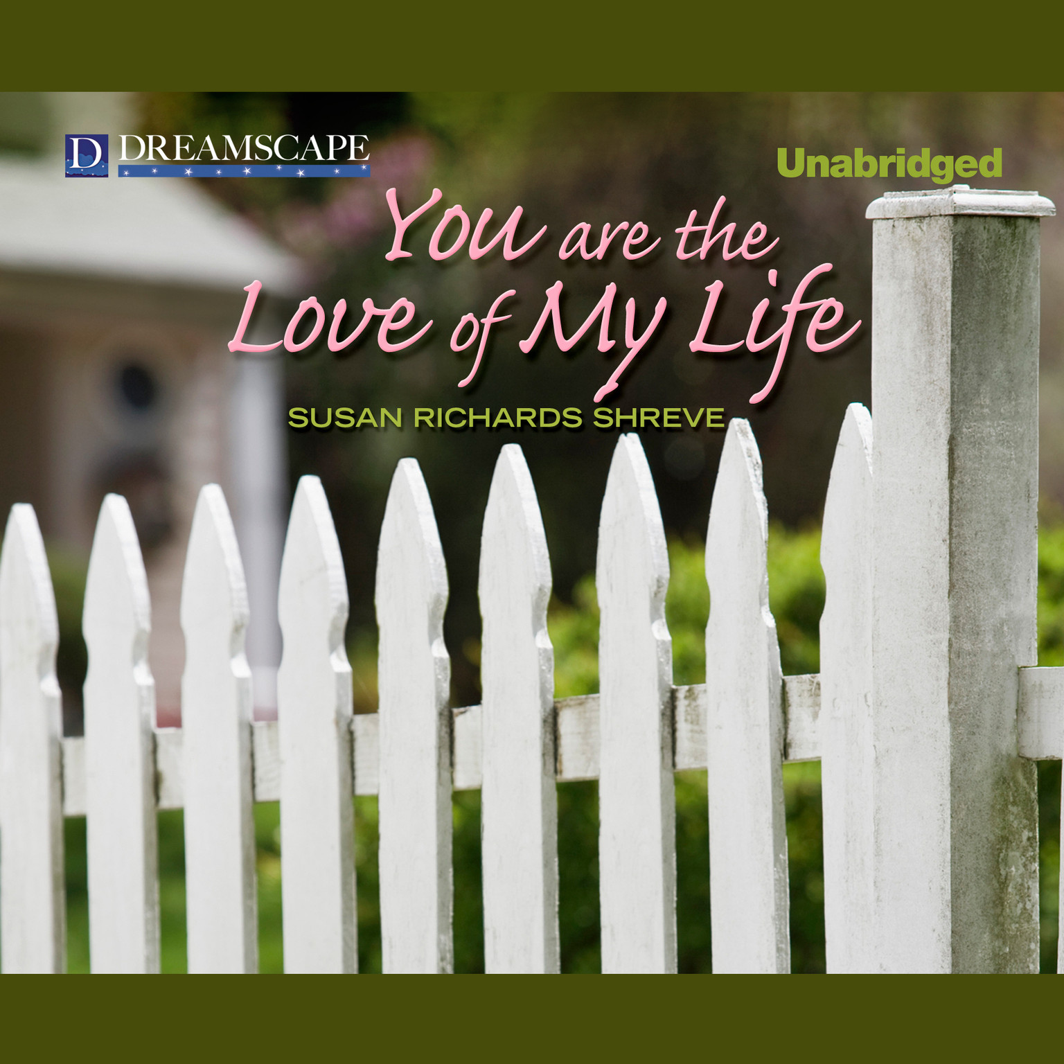 Printable You Are the Love of My Life Audiobook Cover Art