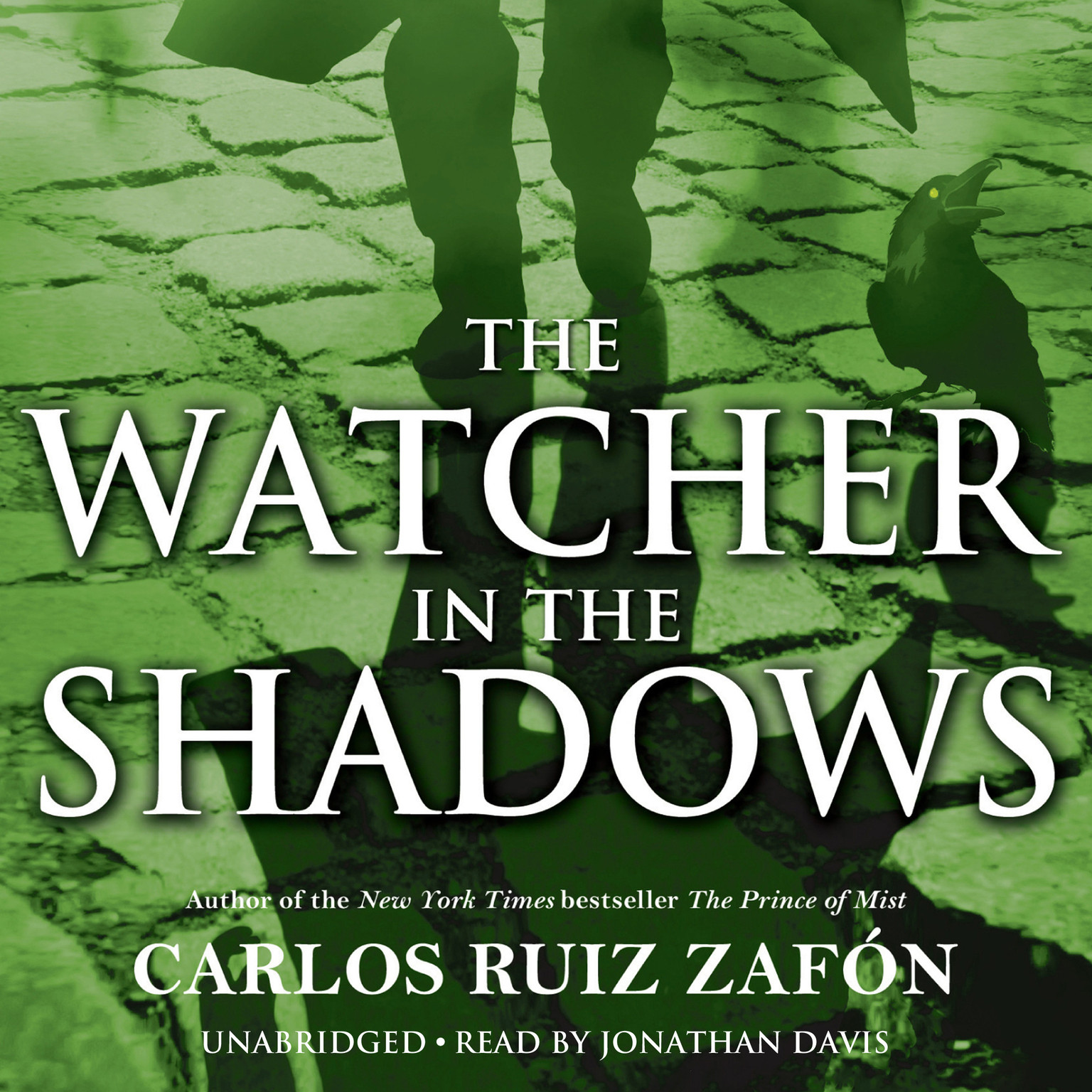 Printable The Watcher in the Shadows Audiobook Cover Art
