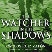 The Watcher in the Shadows Audiobook, by Carlos Ruiz Zafón