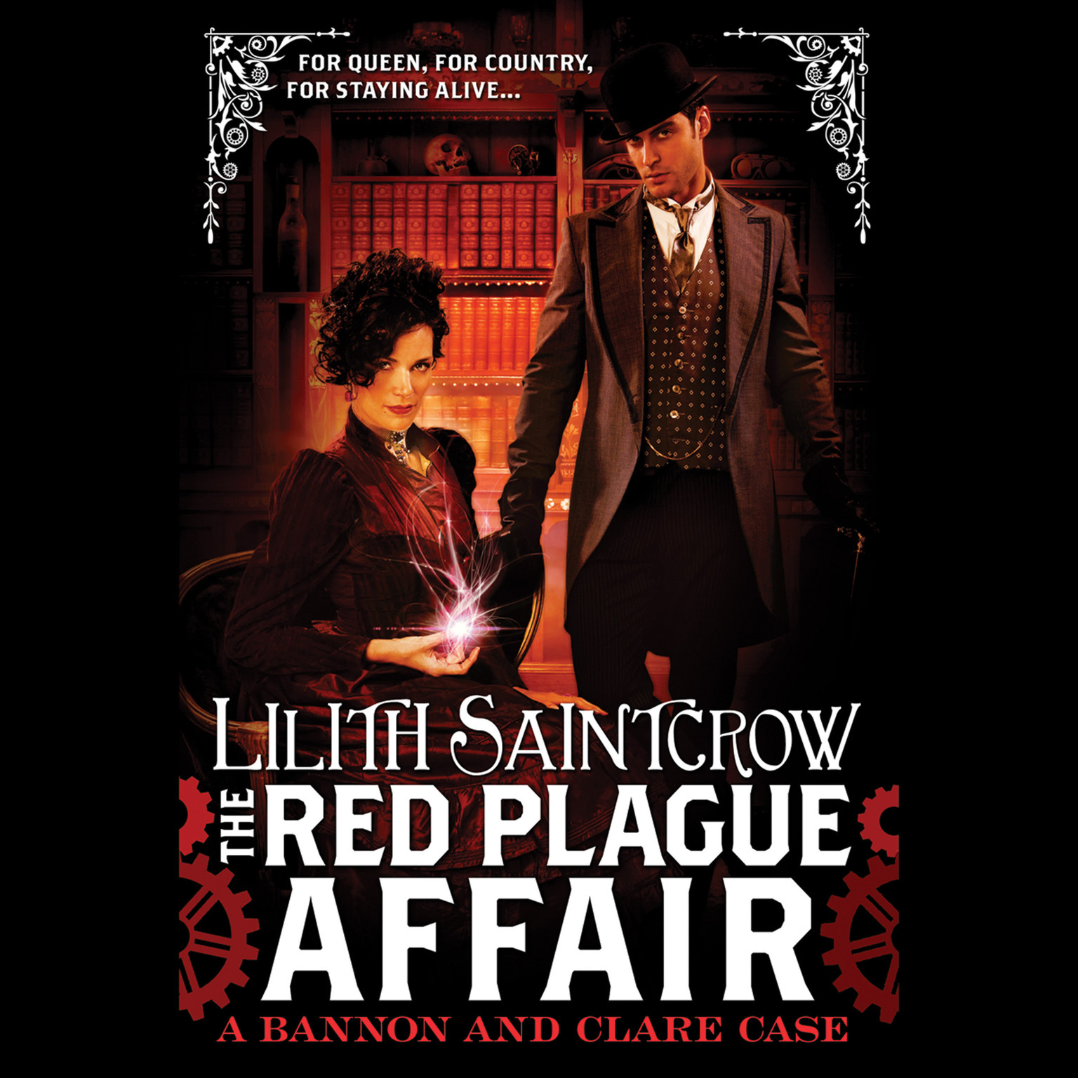 Printable The Red Plague Affair: Bannon & Clare: Book Two Audiobook Cover Art
