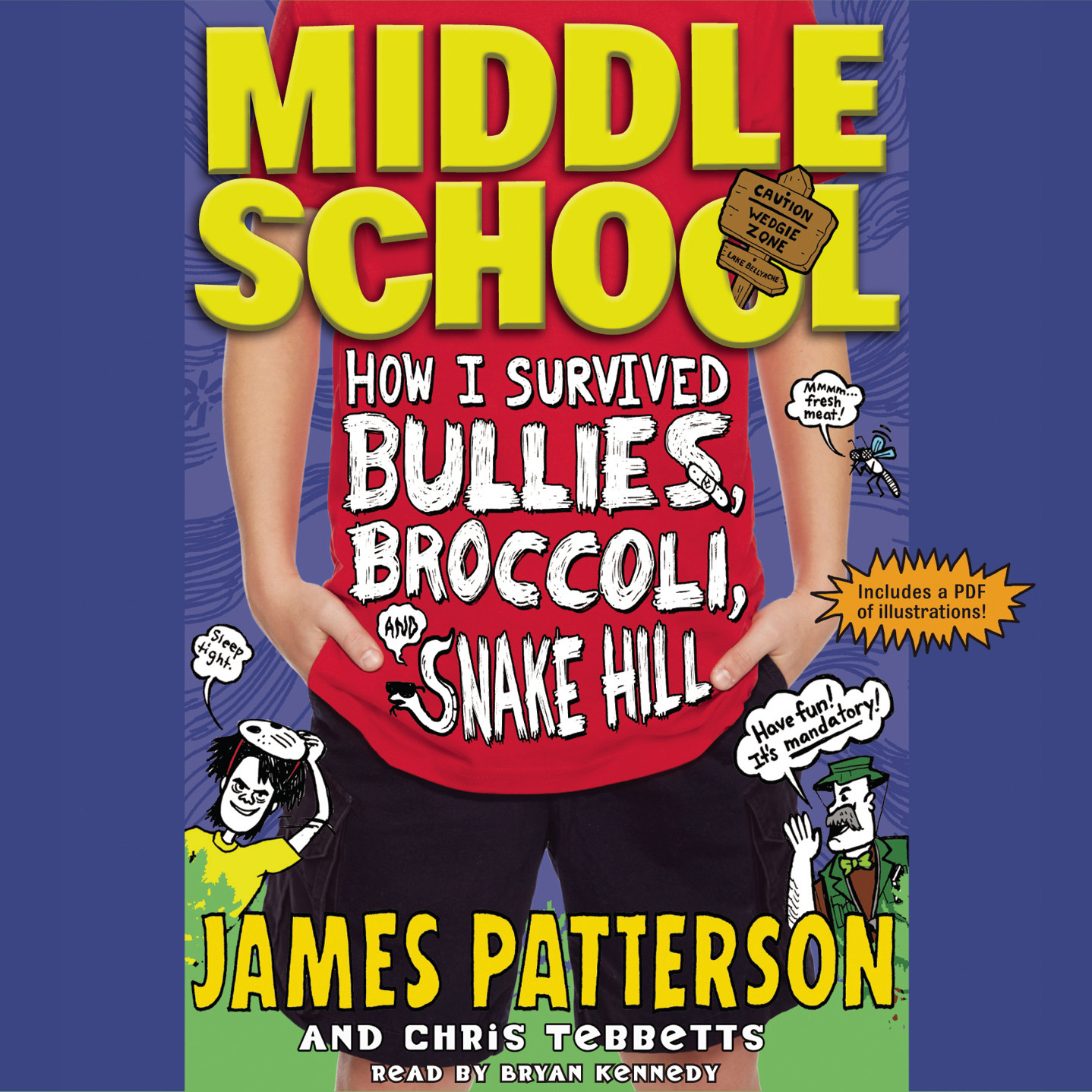 Printable How I Survived Bullies, Broccoli, and Snake Hill Audiobook Cover Art
