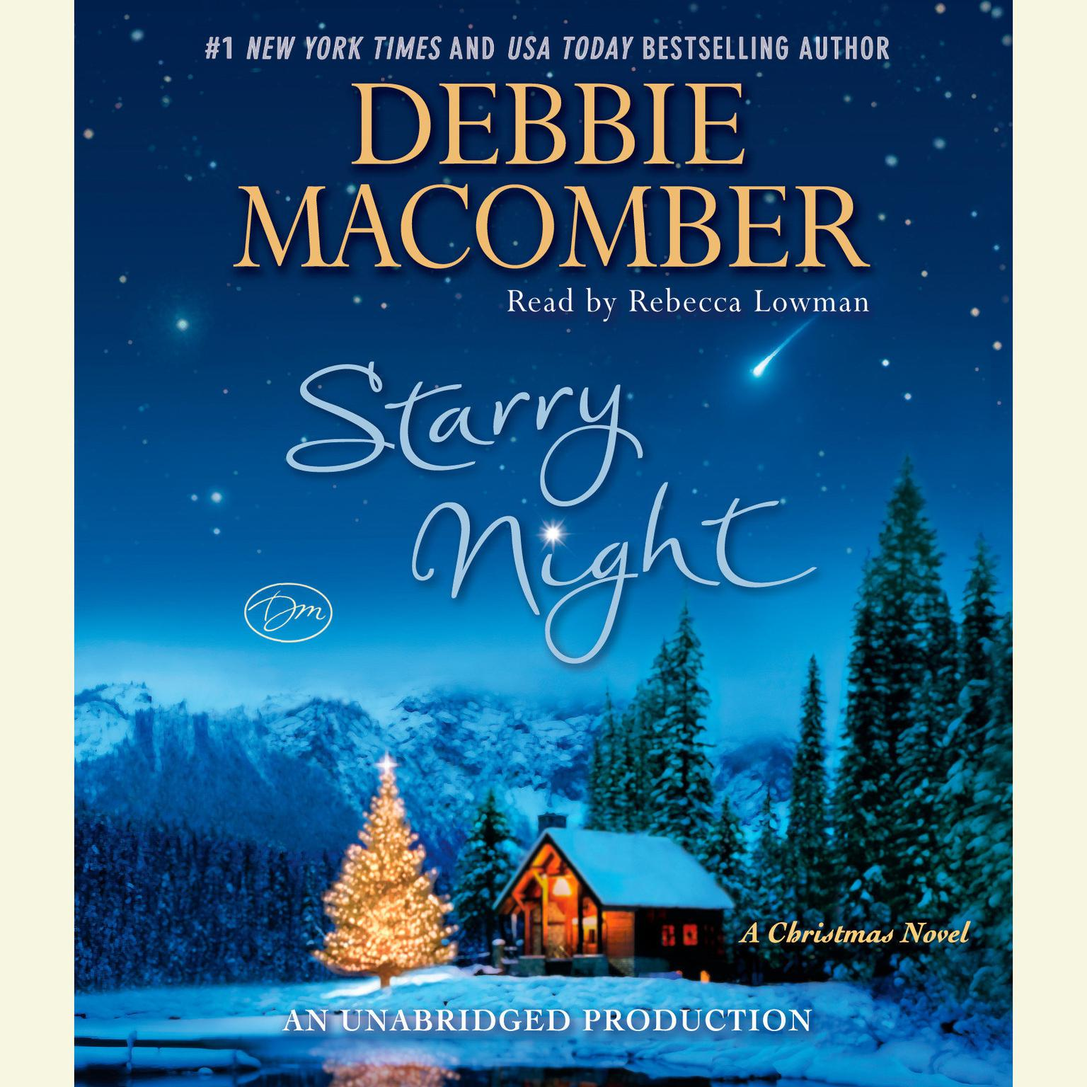 Printable Starry Night: A Christmas Novel Audiobook Cover Art