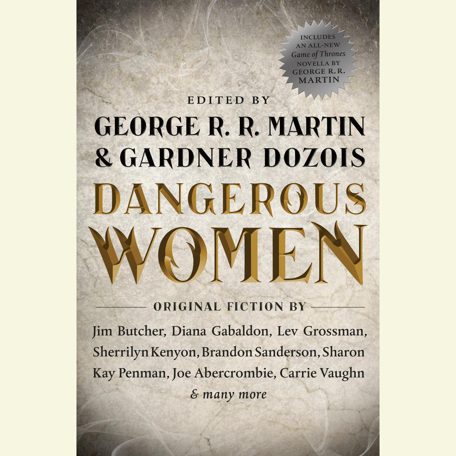 Printable Dangerous Women Audiobook Cover Art