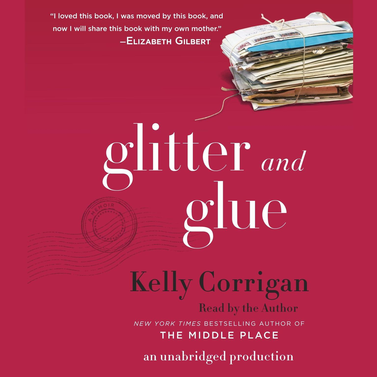 Printable Glitter and Glue: A Memoir Audiobook Cover Art