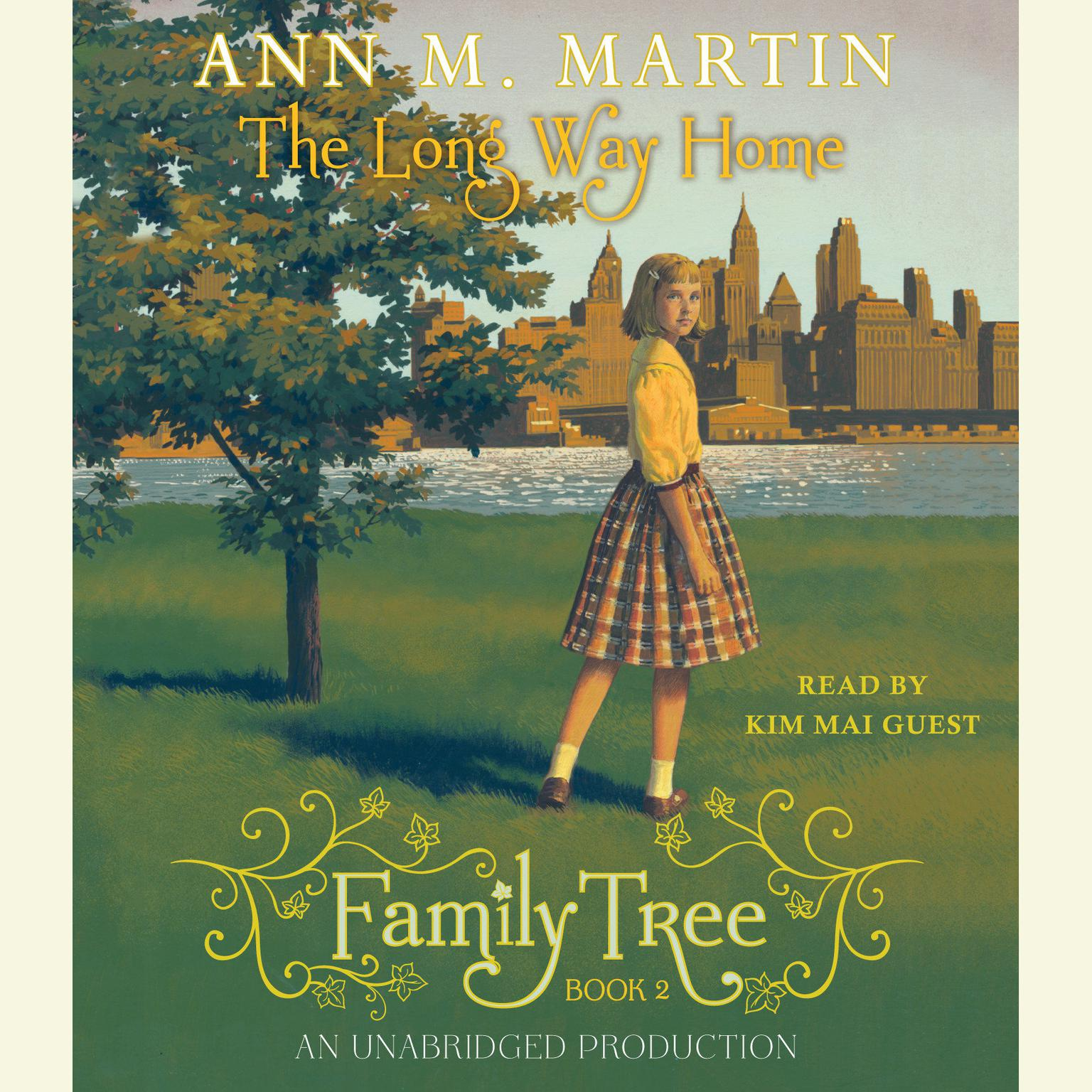 Printable Family Tree #2: The Long Way Home Audiobook Cover Art