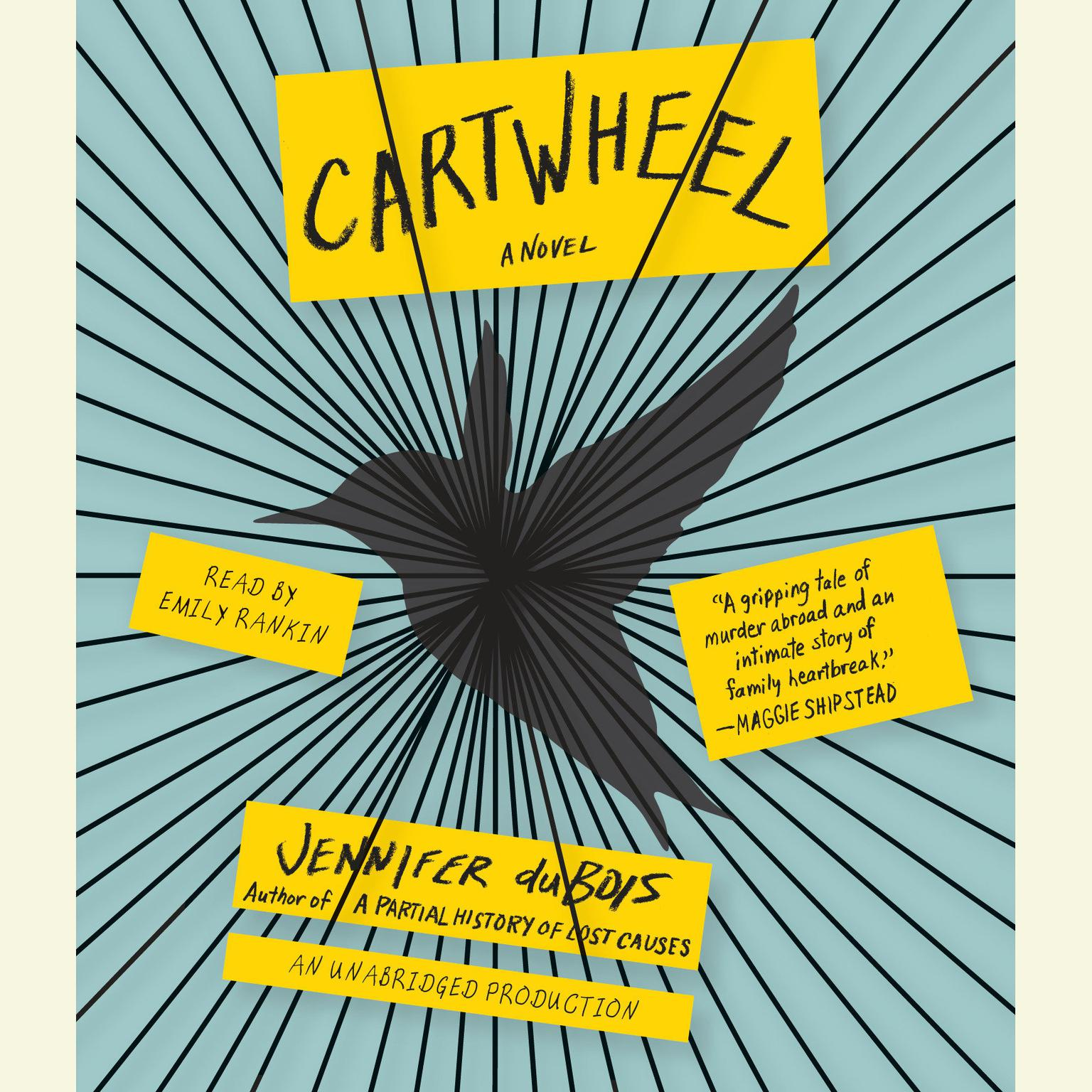 Printable Cartwheel: A Novel Audiobook Cover Art