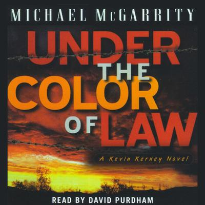 Printable Under the Color of Law Audiobook Cover Art