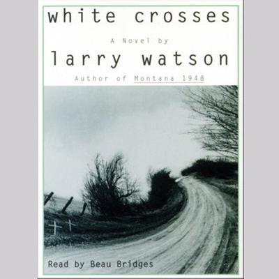 Printable White Crosses Audiobook Cover Art