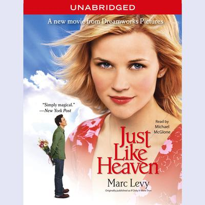 Printable Just Like Heaven Audiobook Cover Art