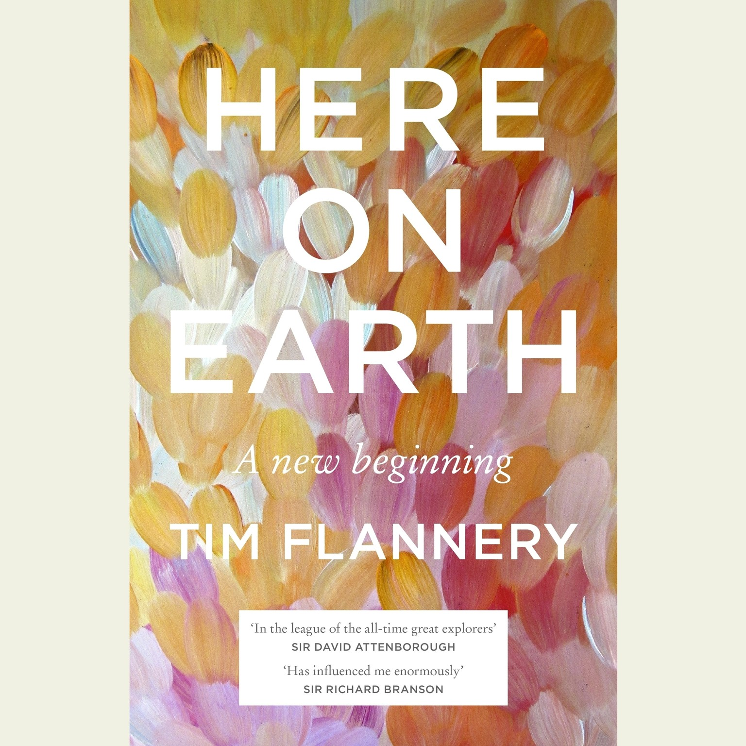 Printable Here on Earth: A New Beginning Audiobook Cover Art