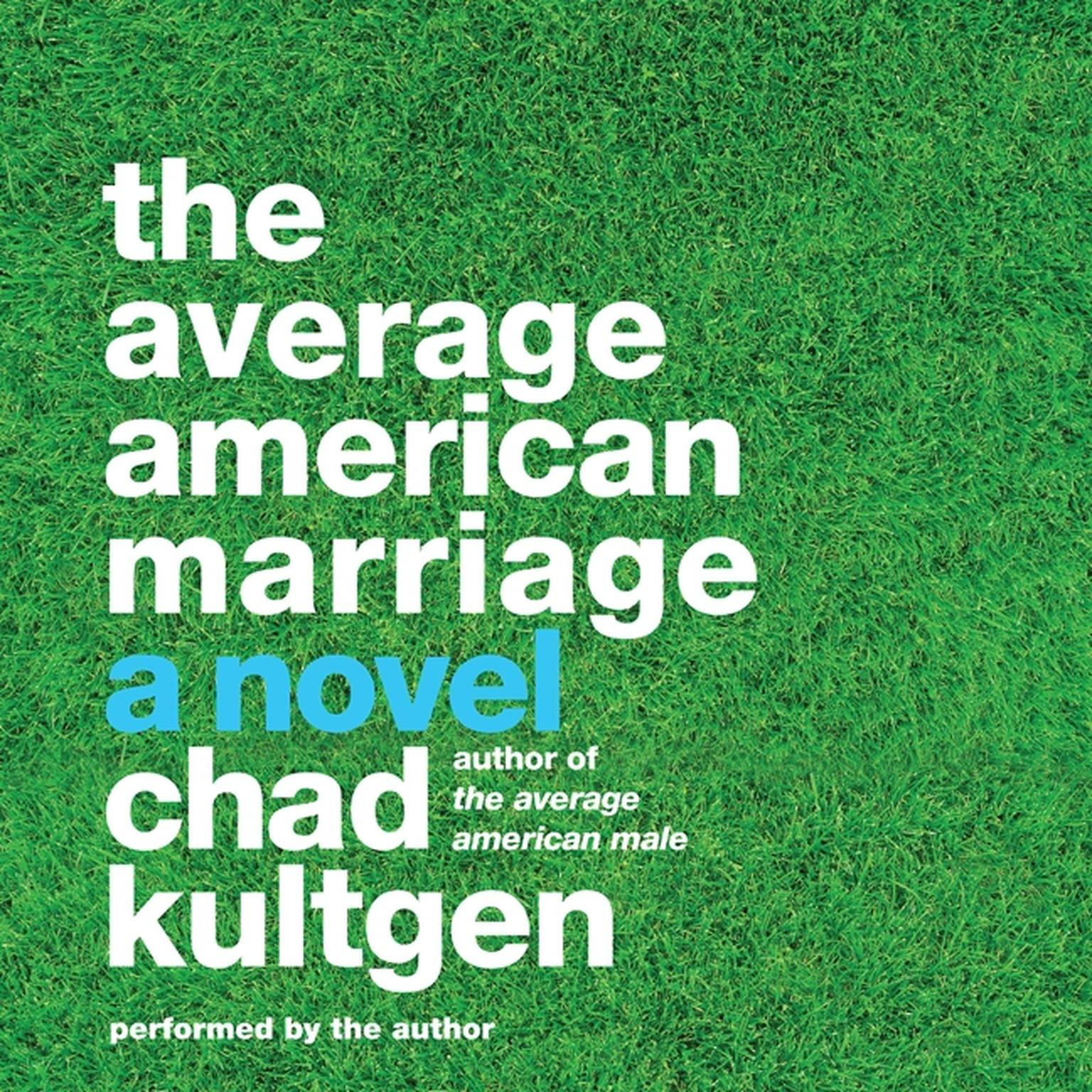 Printable The Average American Marriage: A Novel Audiobook Cover Art
