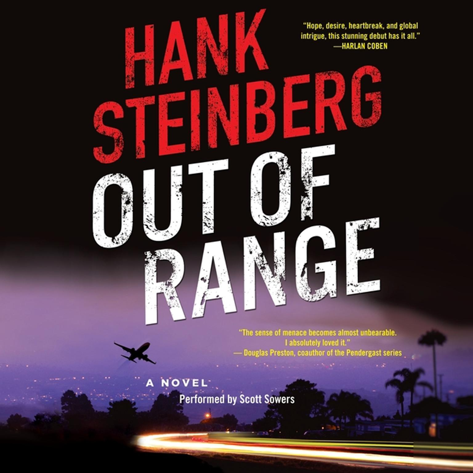 Printable Out of Range: A Novel Audiobook Cover Art