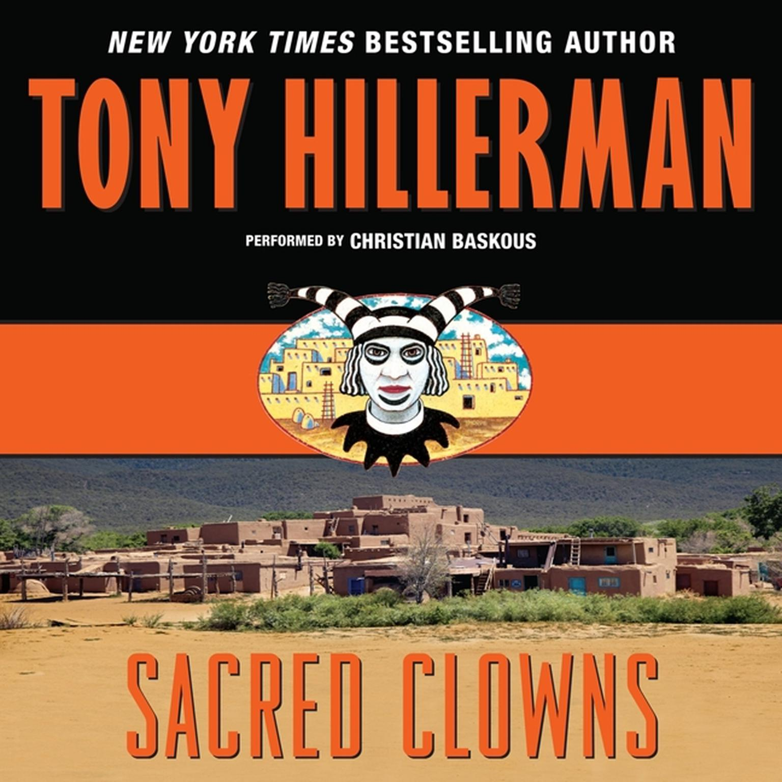 Printable Sacred Clowns Audiobook Cover Art