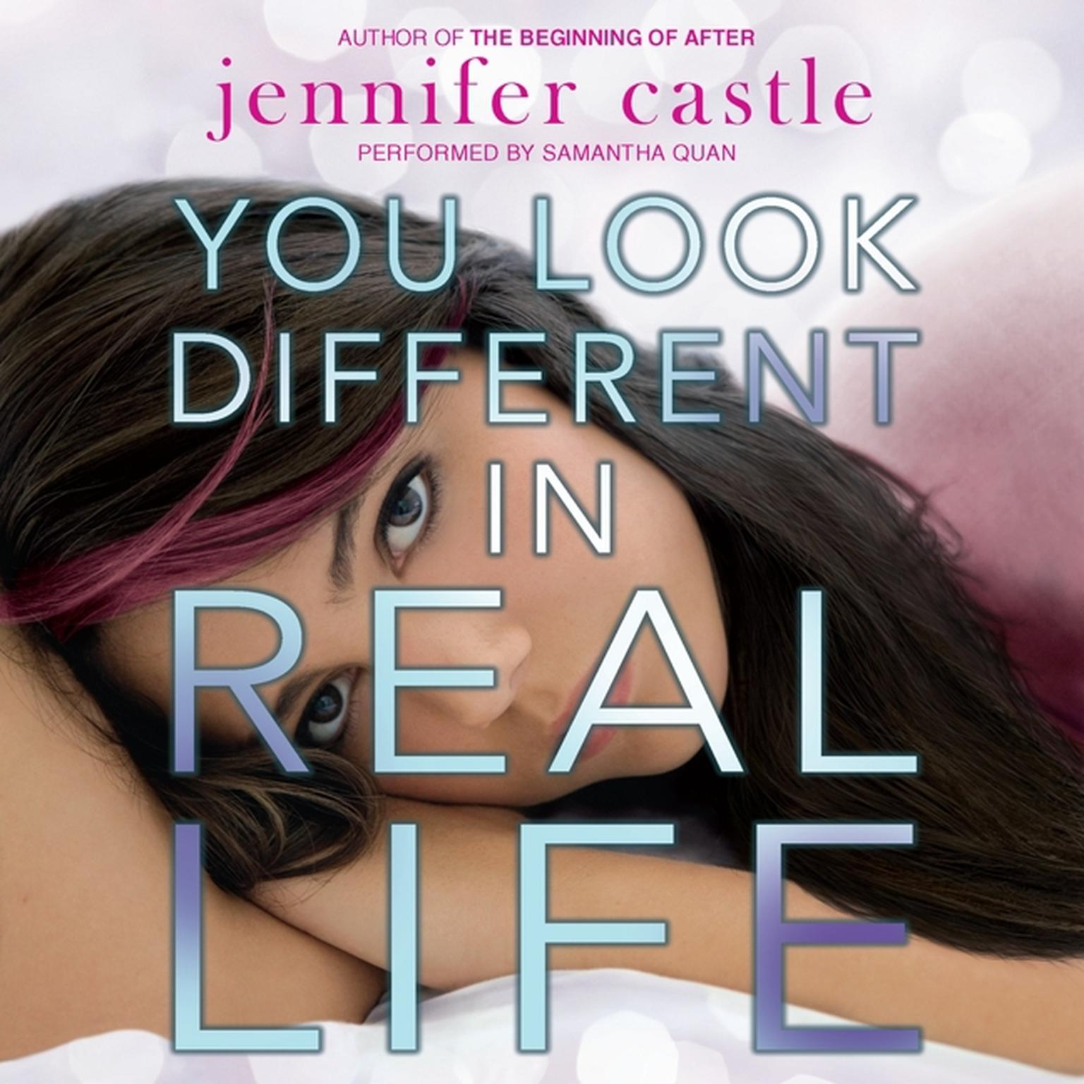 Printable You Look Different in Real Life Audiobook Cover Art