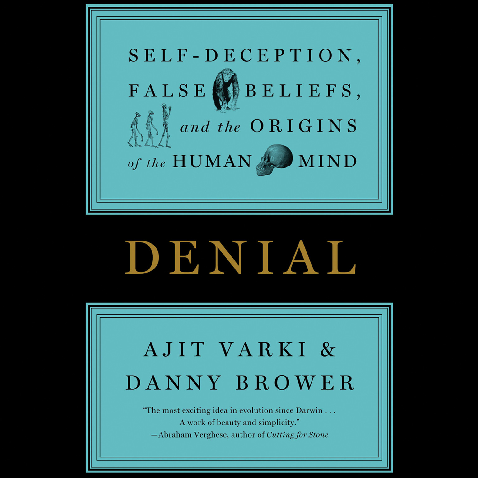 Printable Denial: Self-Deception, False Beliefs, and the Origins of the Human Mind Audiobook Cover Art