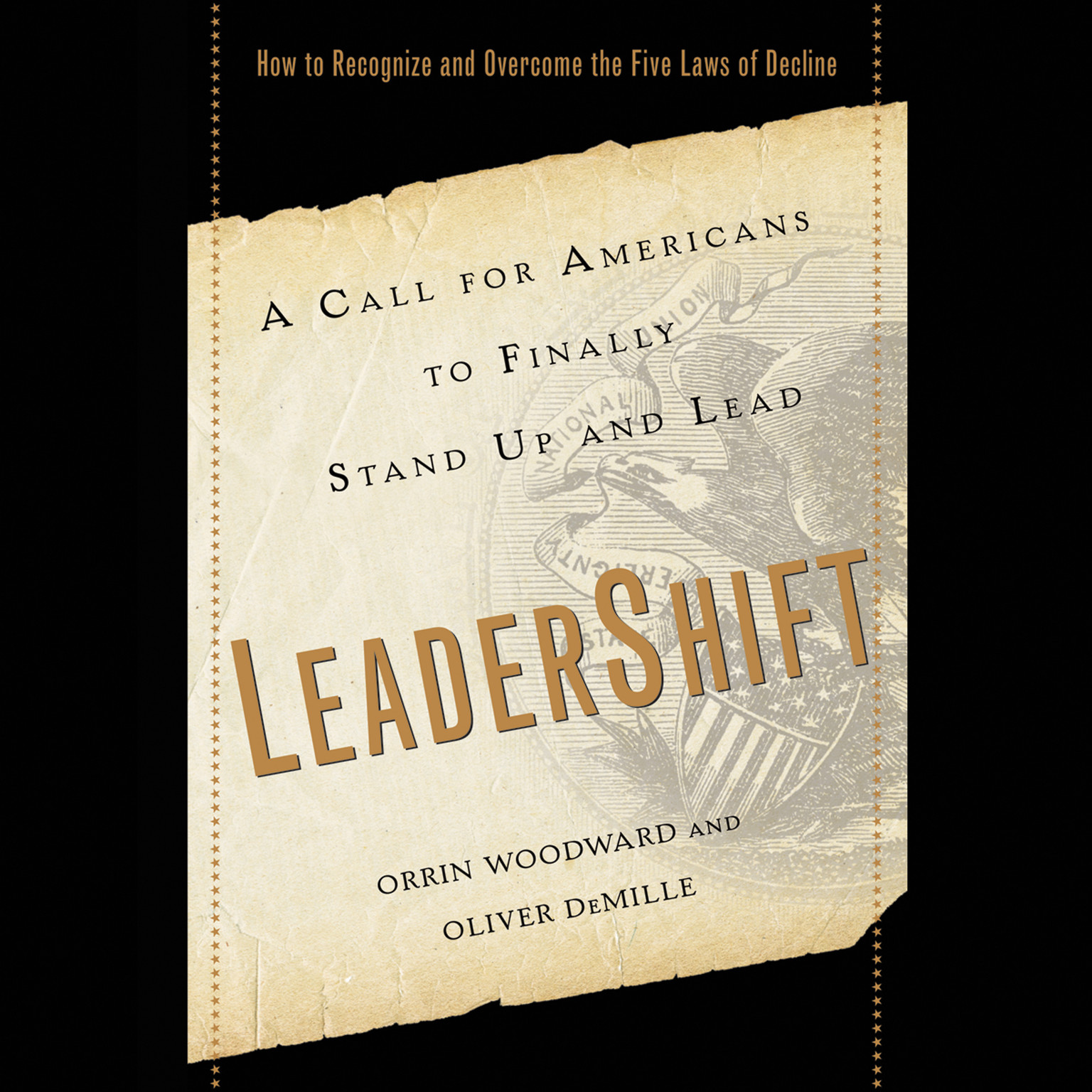 Printable LeaderShift: A Call for Americans to Finally Stand Up and Lead Audiobook Cover Art