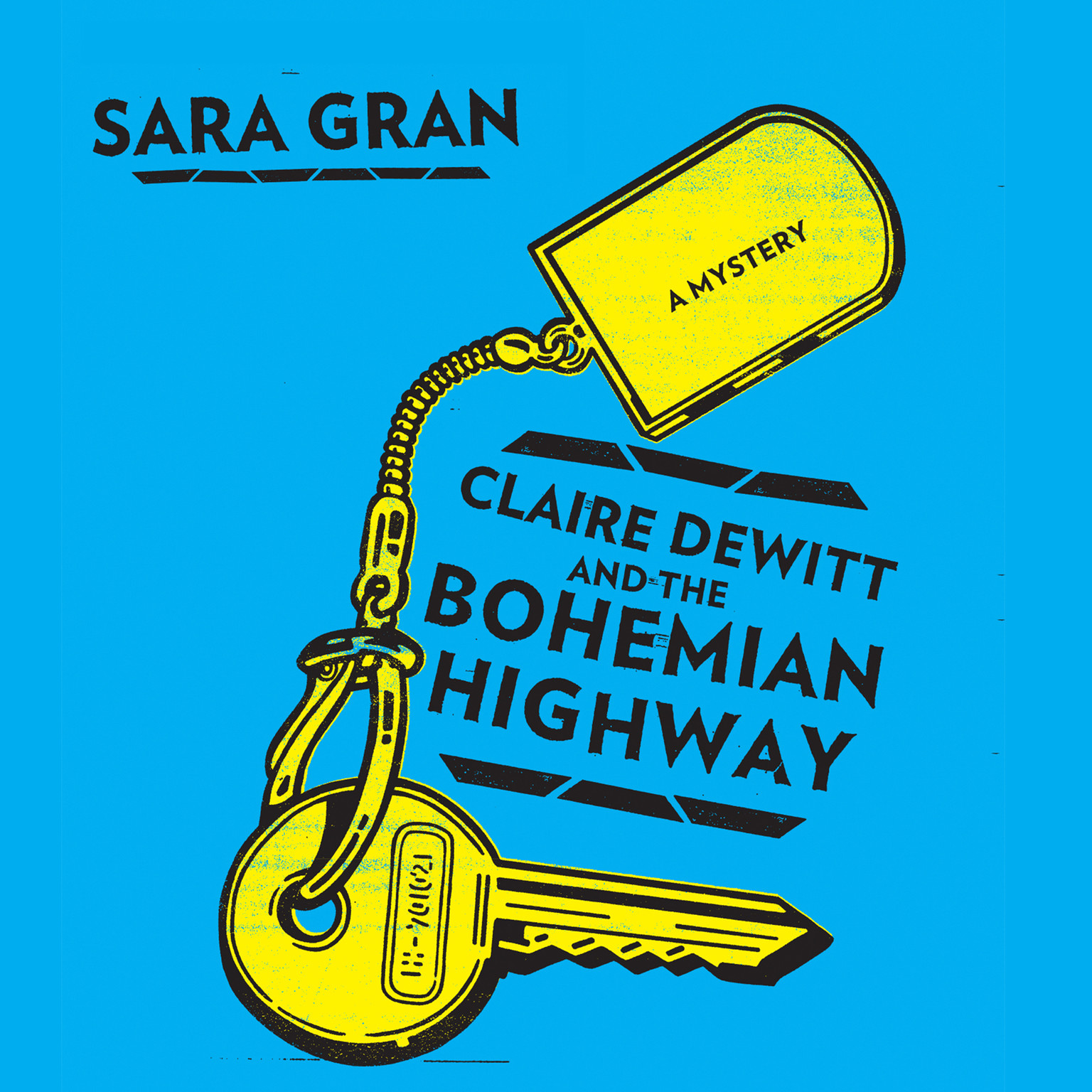 Printable Claire DeWitt and the Bohemian Highway Audiobook Cover Art