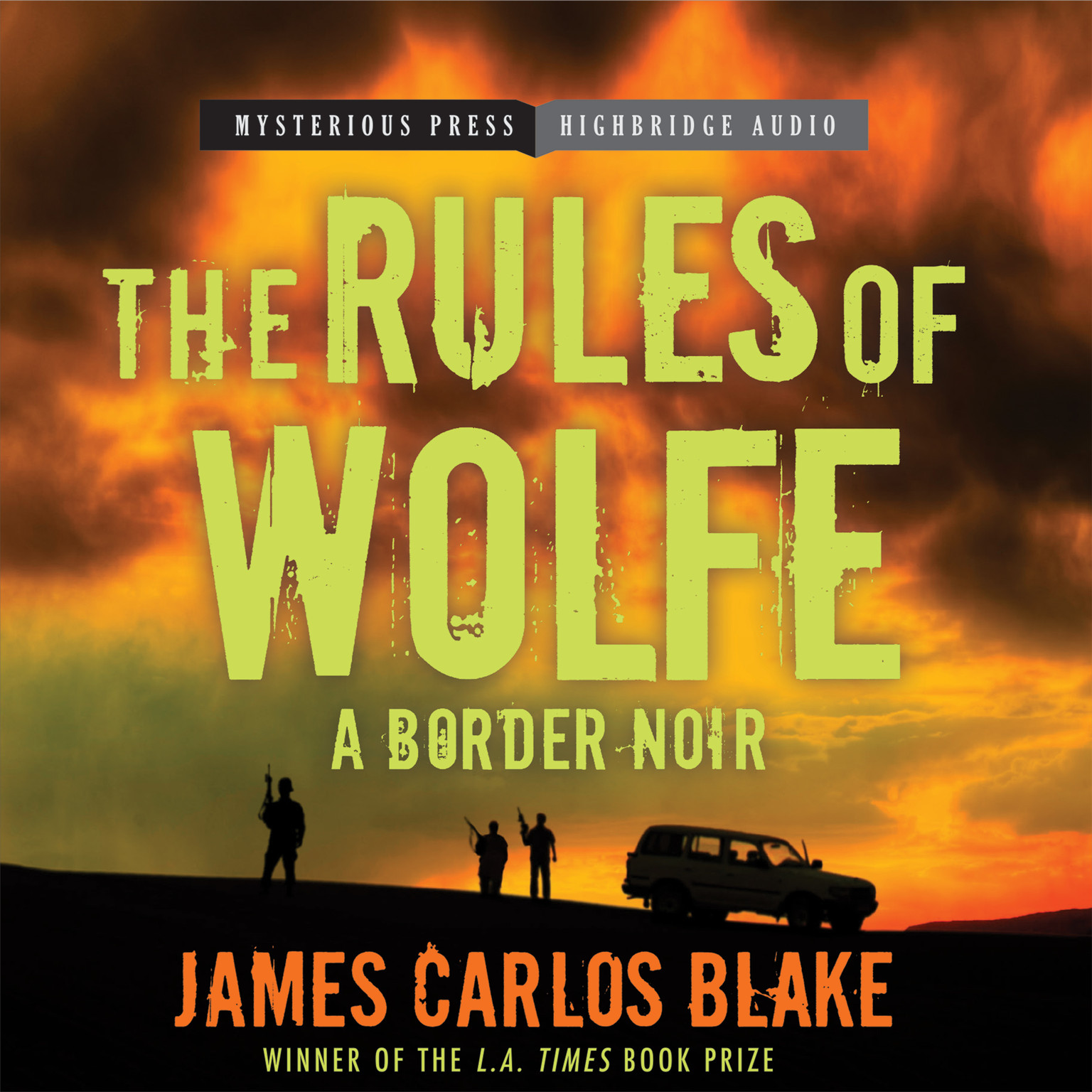 Printable The Rules of Wolfe Audiobook Cover Art