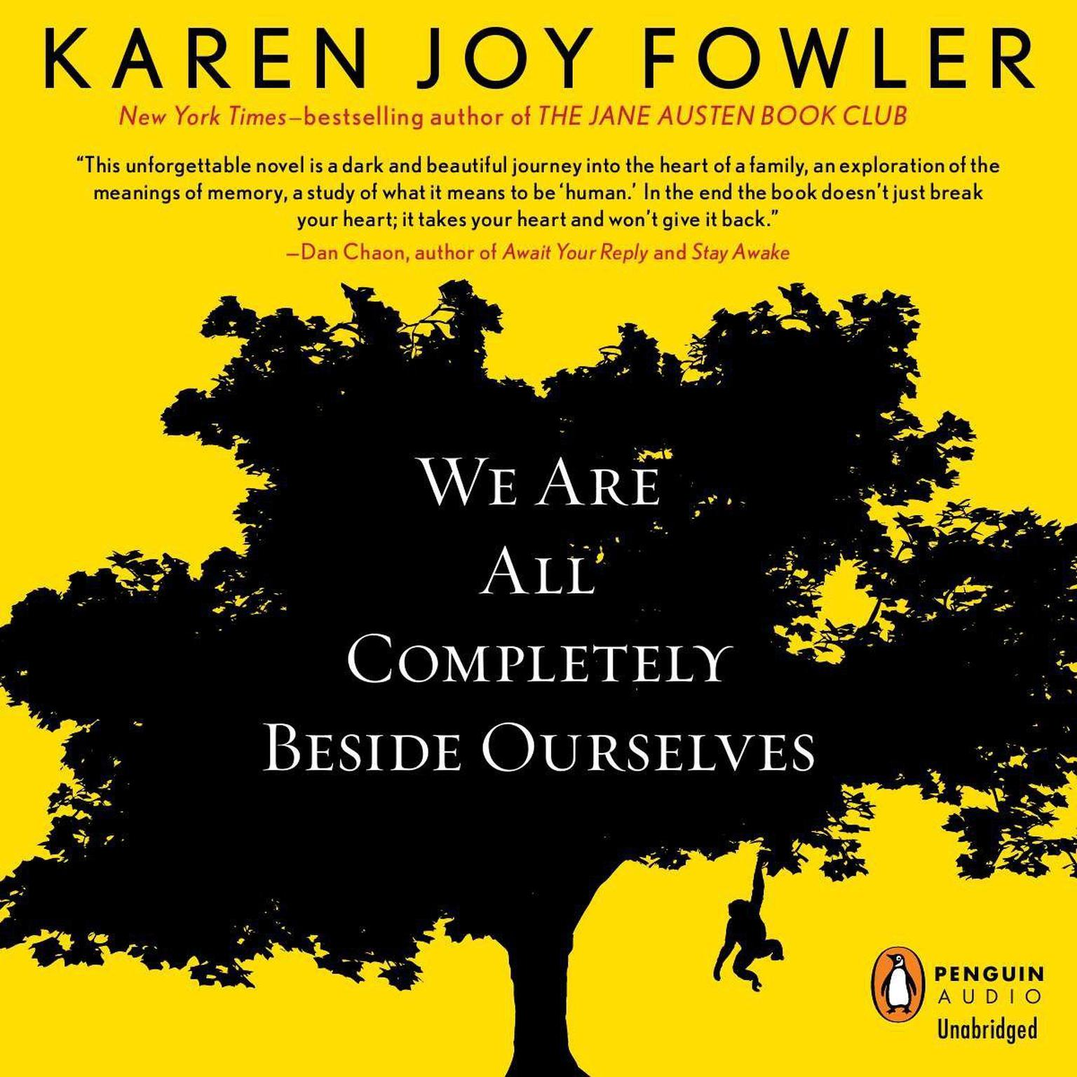 Printable We Are All Completely Beside Ourselves Audiobook Cover Art