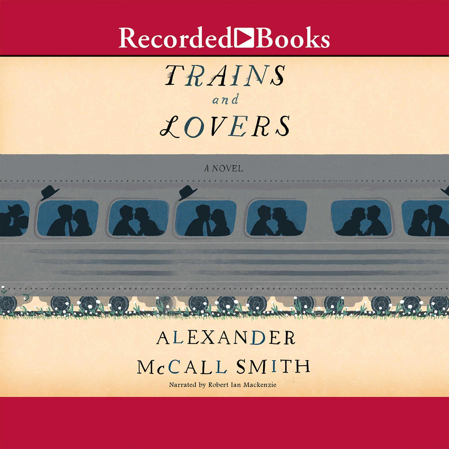 Printable Trains and Lovers Audiobook Cover Art