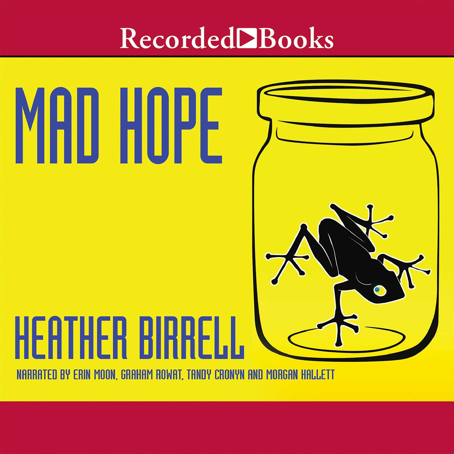 Printable Mad Hope Audiobook Cover Art