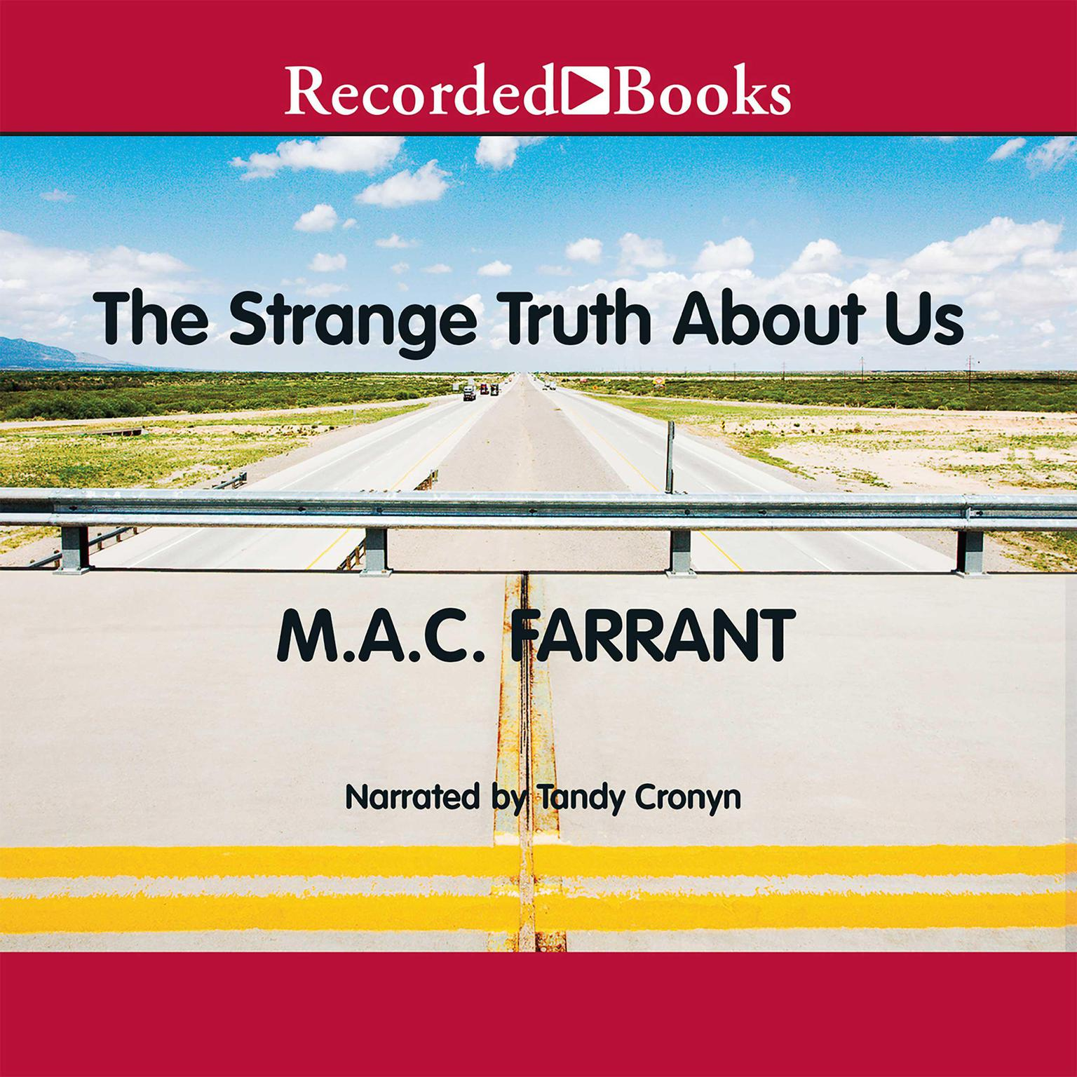 Printable The Strange Truth About Us Audiobook Cover Art
