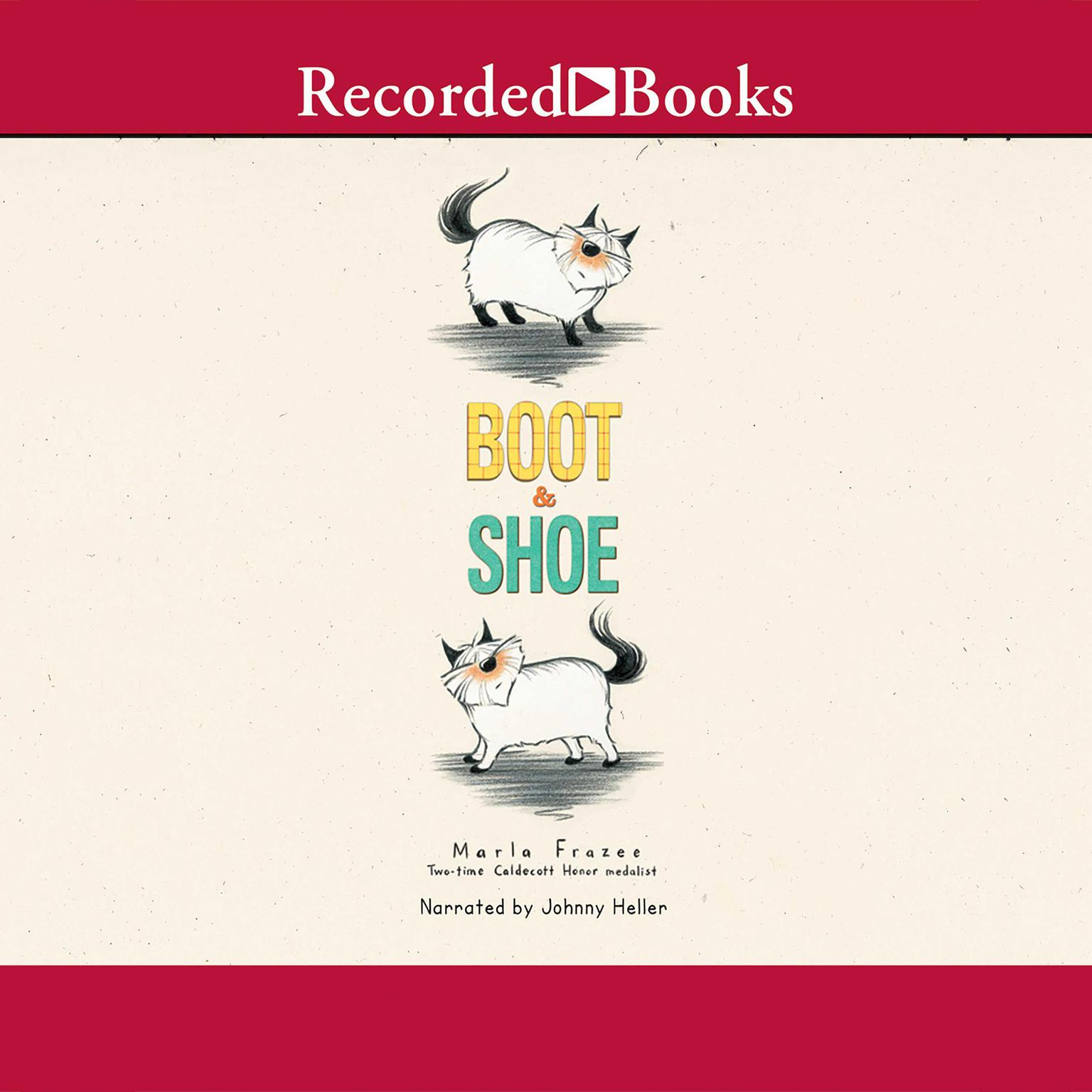 Printable Boot & Shoe Audiobook Cover Art