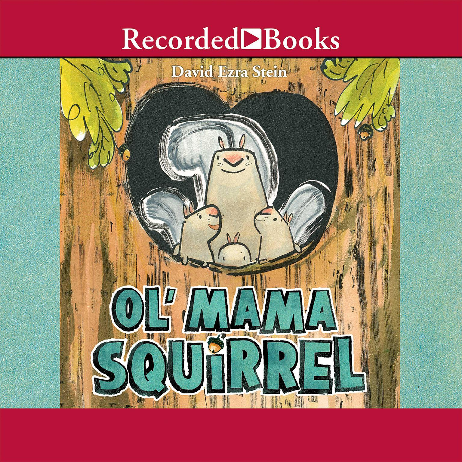 Printable Ol' Mama Squirrel Audiobook Cover Art