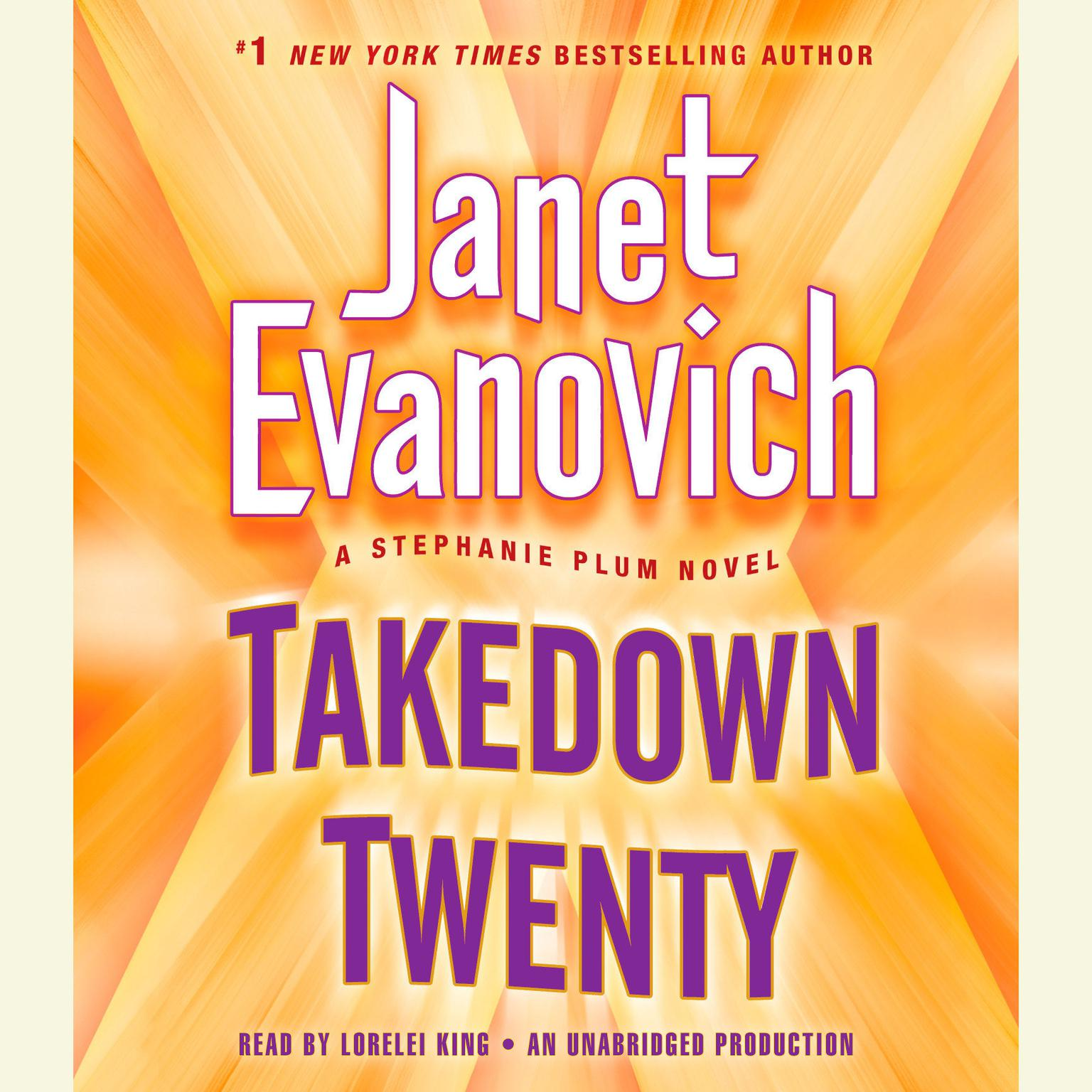 Printable Takedown Twenty: A Stephanie Plum Novel Audiobook Cover Art