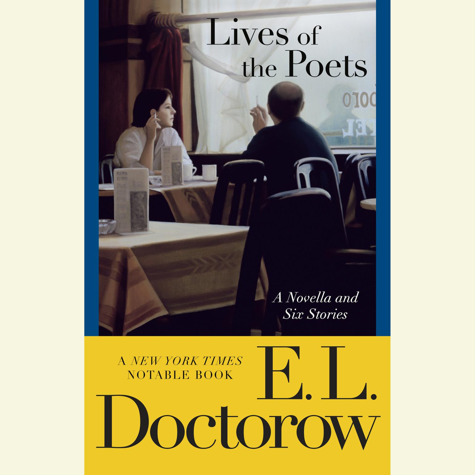 Printable Lives of the Poets: A Novella and Six Stories Audiobook Cover Art