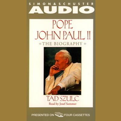 Printable Pope John Paul II: The Biography Audiobook Cover Art
