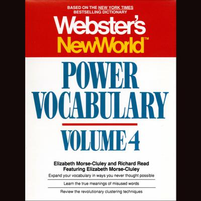 Printable Webster's New World Power Vocabulary, Vol. 4 Audiobook Cover Art