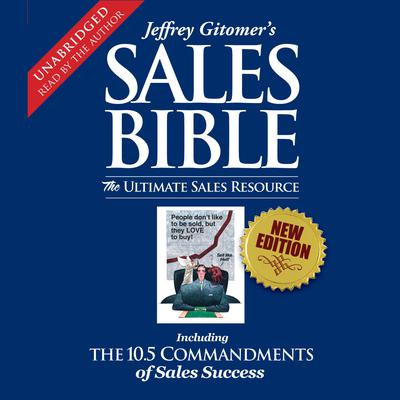 Printable The Sales Bible: The Ultimate Sales Resource Audiobook Cover Art
