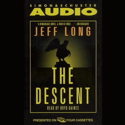 Printable The Descent Audiobook Cover Art