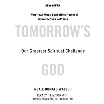 Printable Tomorrow's God: Our Greatest Spiritual Challenge Audiobook Cover Art