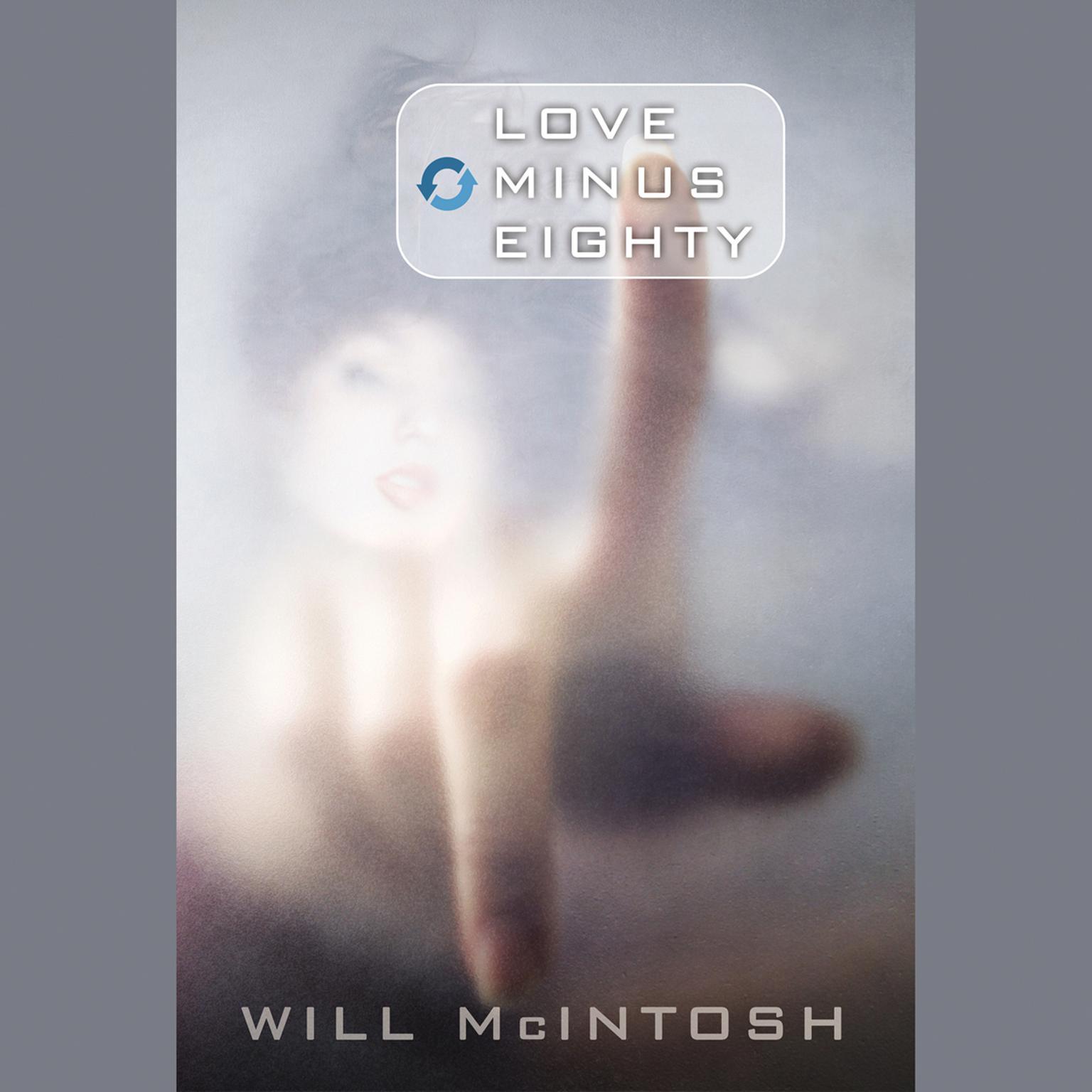 Printable Love Minus Eighty Audiobook Cover Art