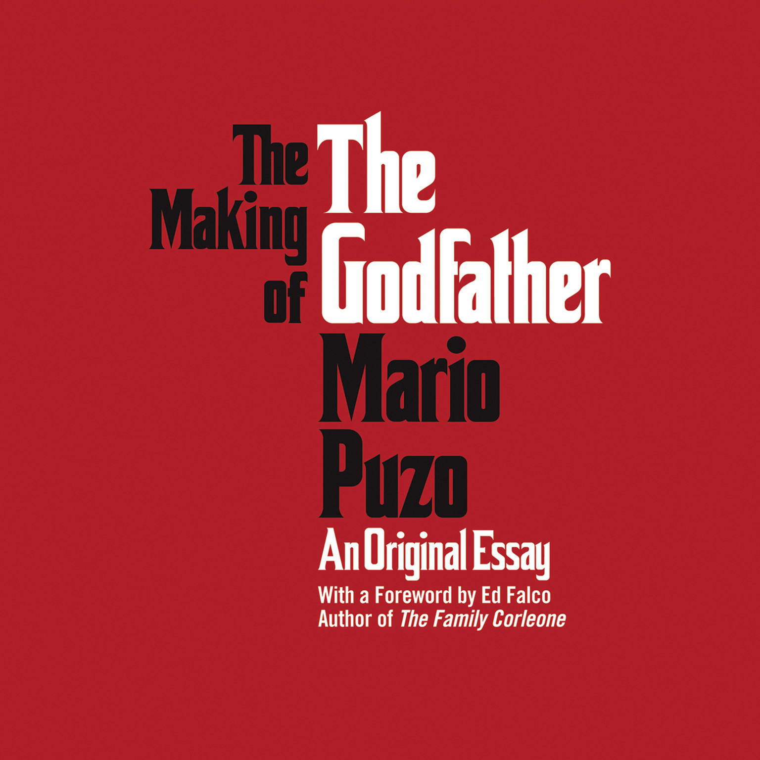 Printable The Making of the Godfather Audiobook Cover Art