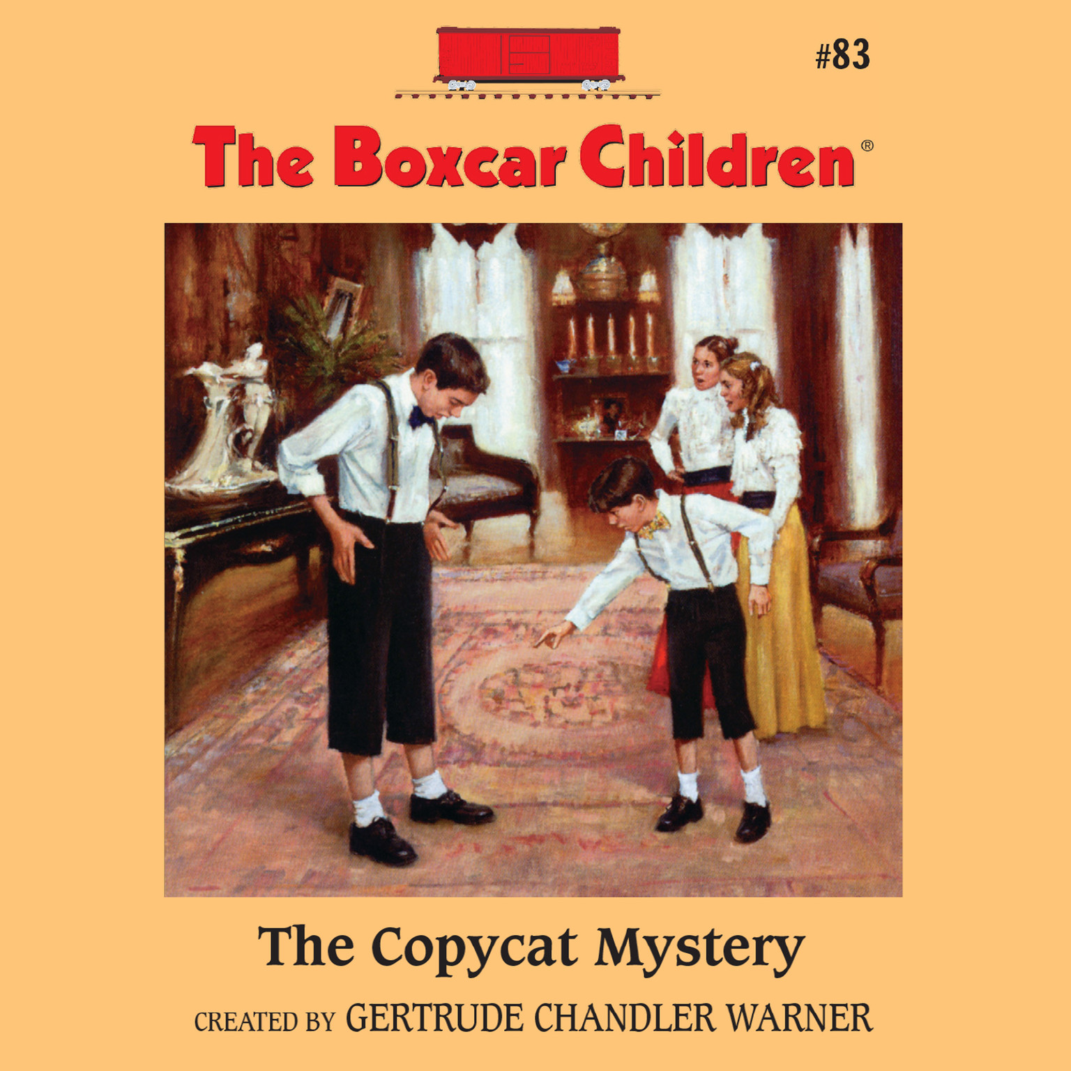 Printable The Copycat Mystery Audiobook Cover Art