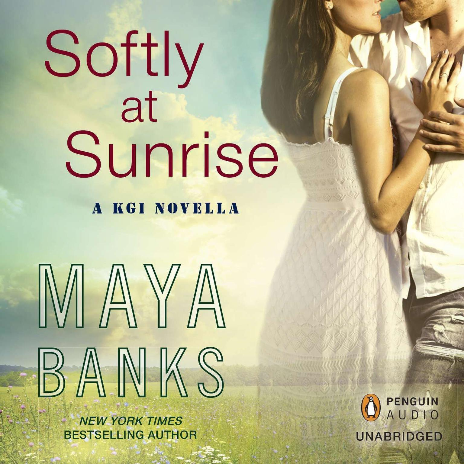 Printable Softly at Sunrise: A KGI Novella Audiobook Cover Art