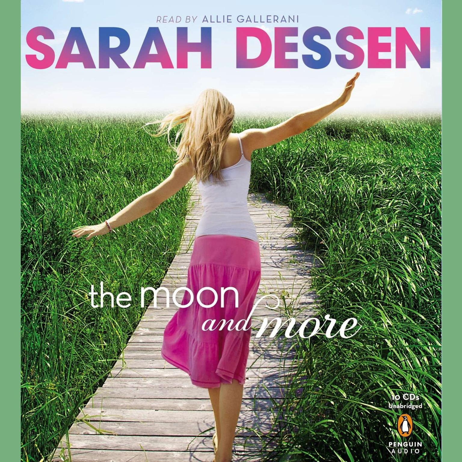Printable The Moon and More Audiobook Cover Art