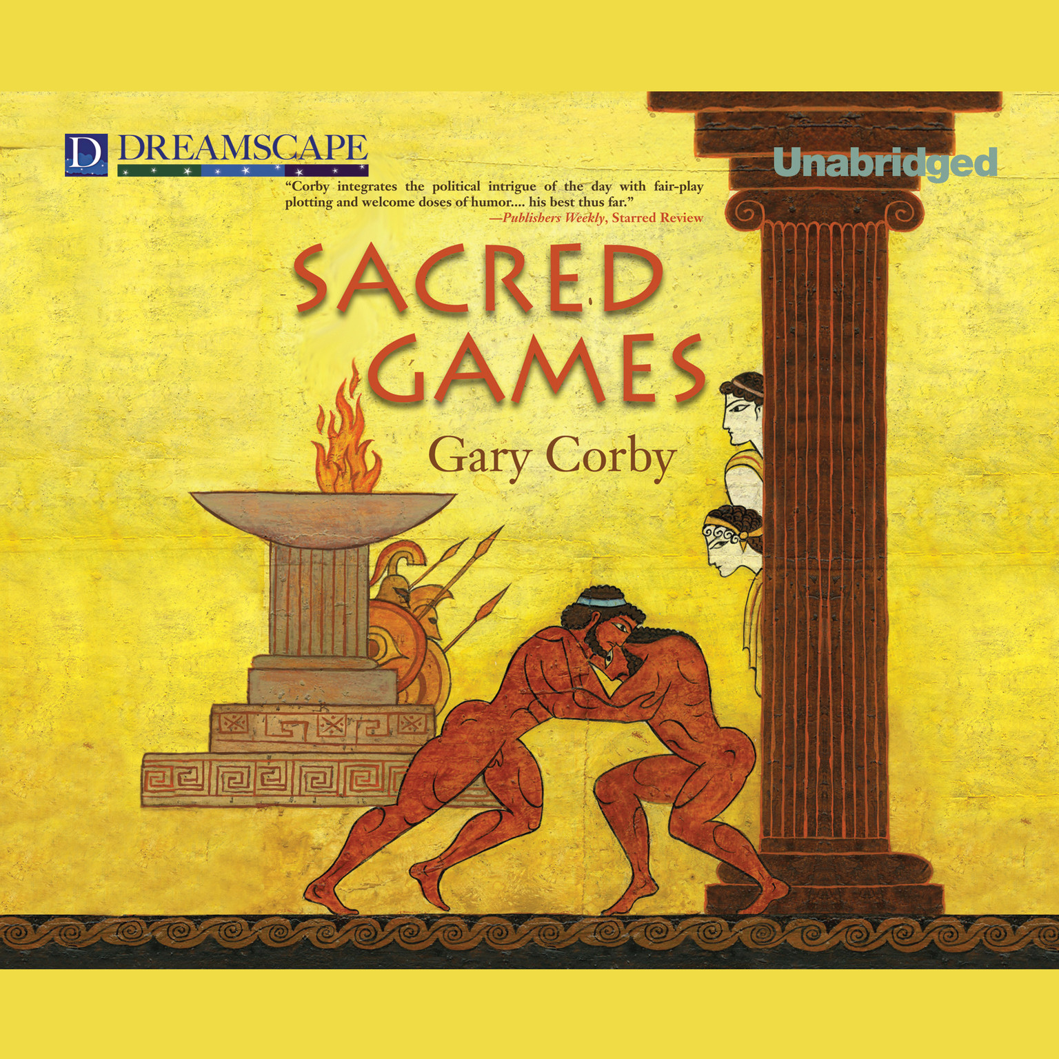 Printable Sacred Games Audiobook Cover Art