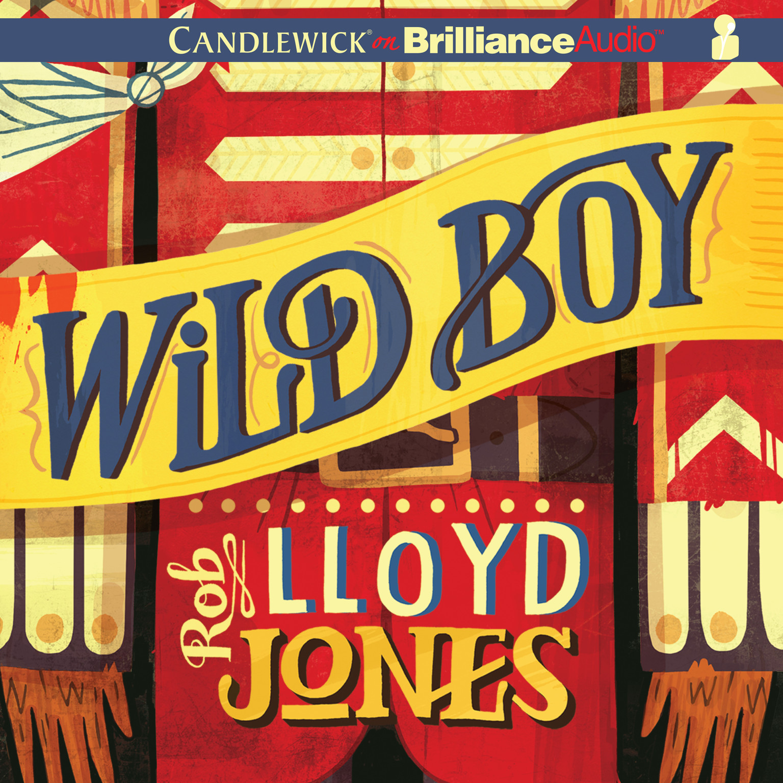 Printable Wild Boy Audiobook Cover Art