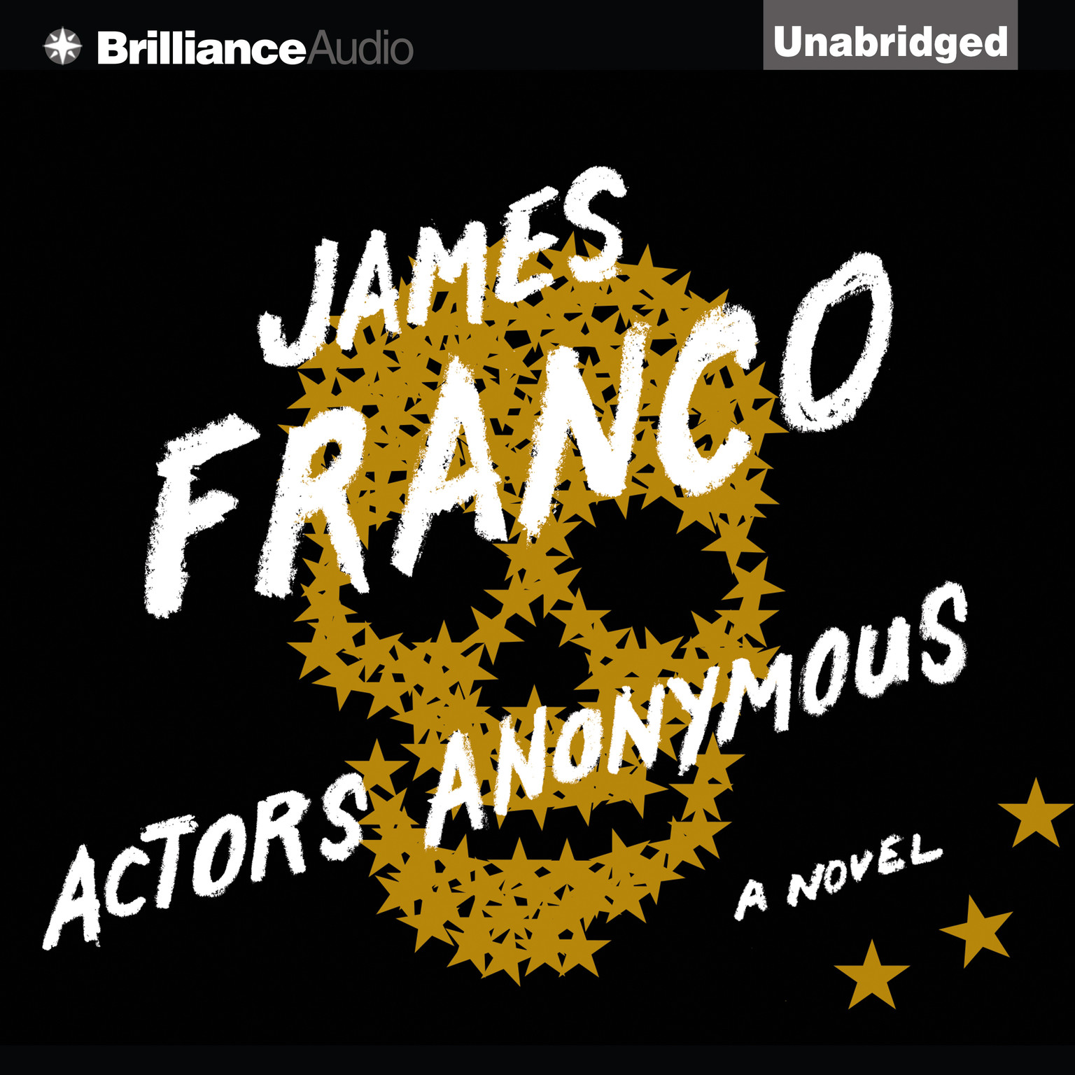 Printable Actors Anonymous: A Novel Audiobook Cover Art