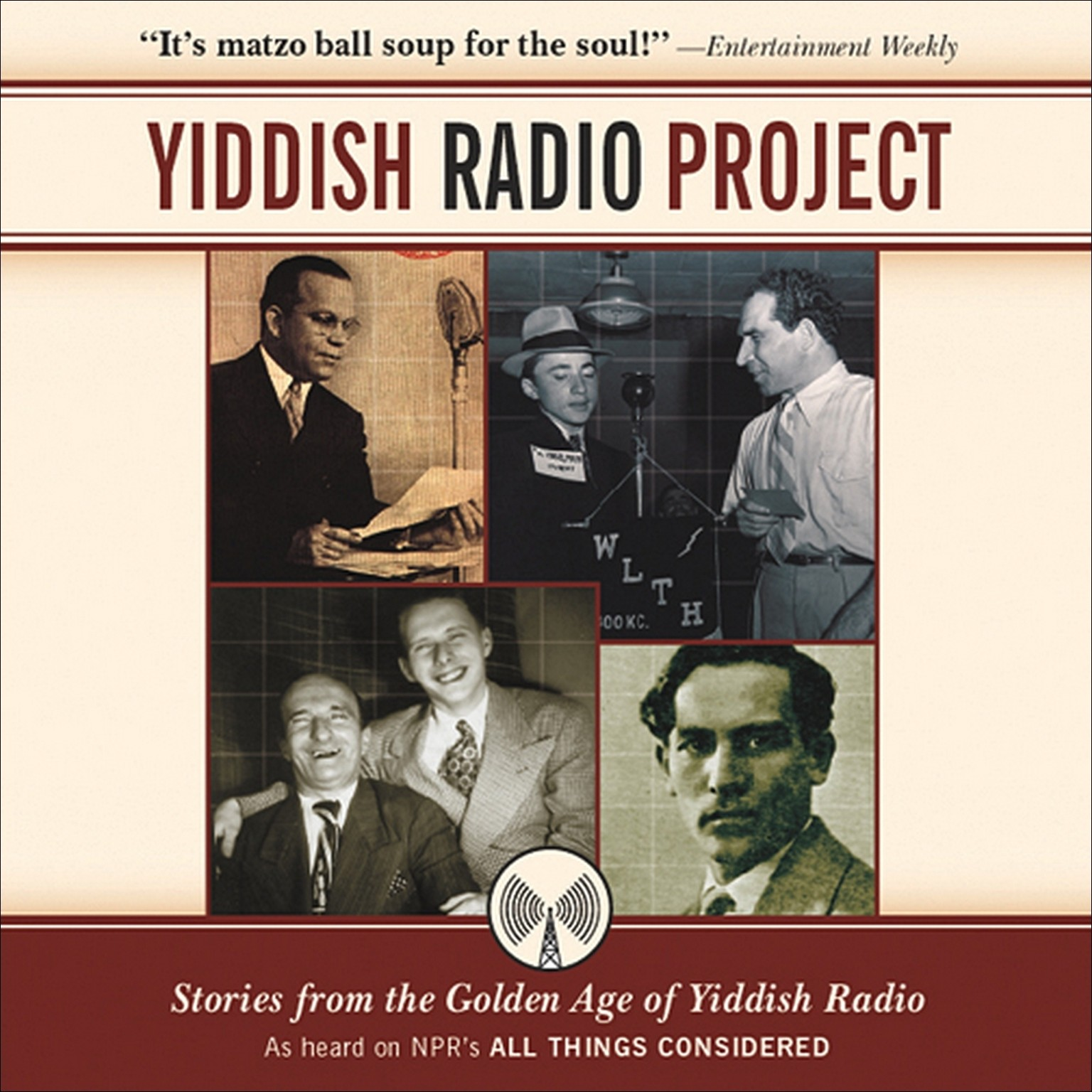 Printable Yiddish Radio Project: Stories from the Golden Age of Yiddish Radio Audiobook Cover Art