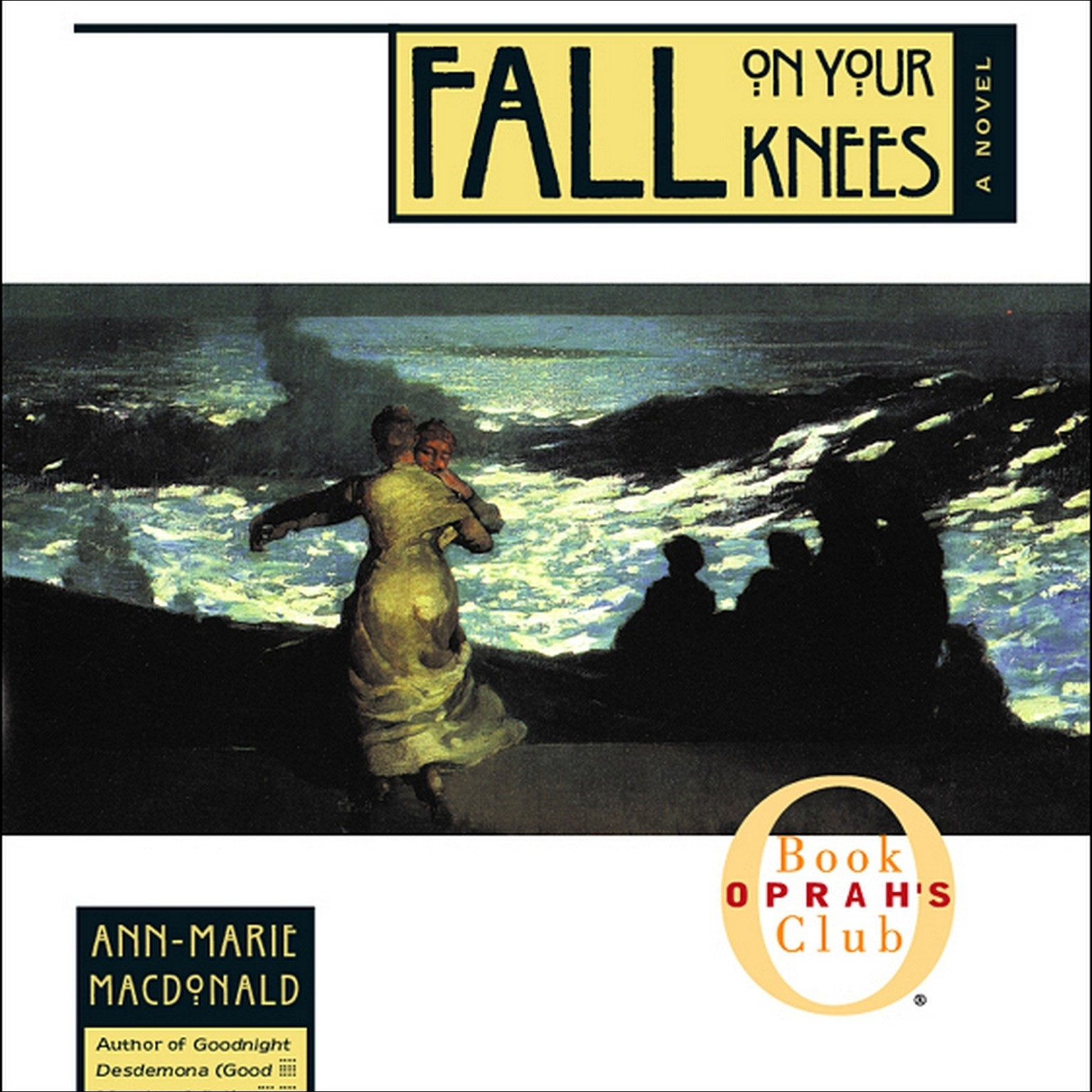 Printable Fall on Your Knees Audiobook Cover Art