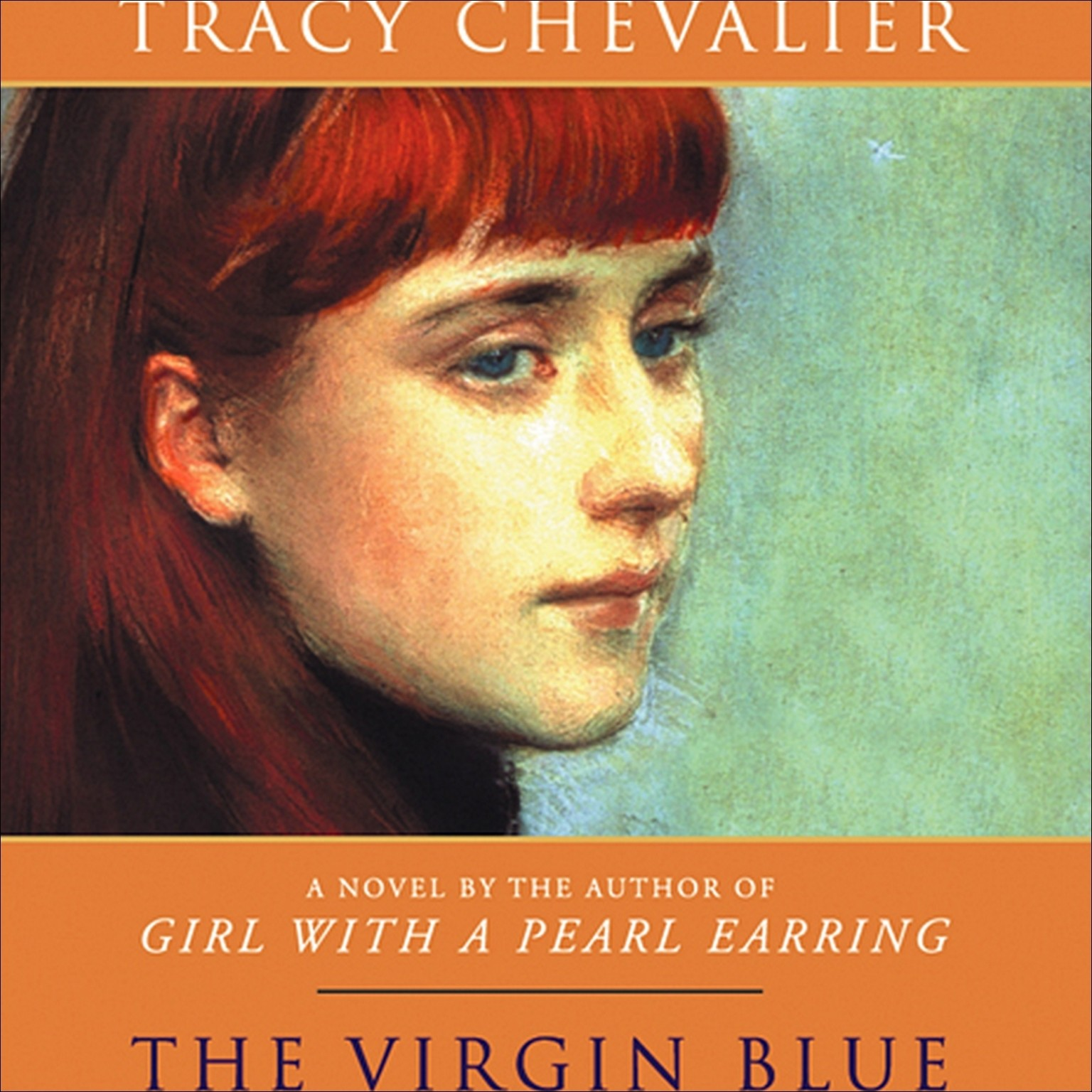 Printable The Virgin Blue Audiobook Cover Art