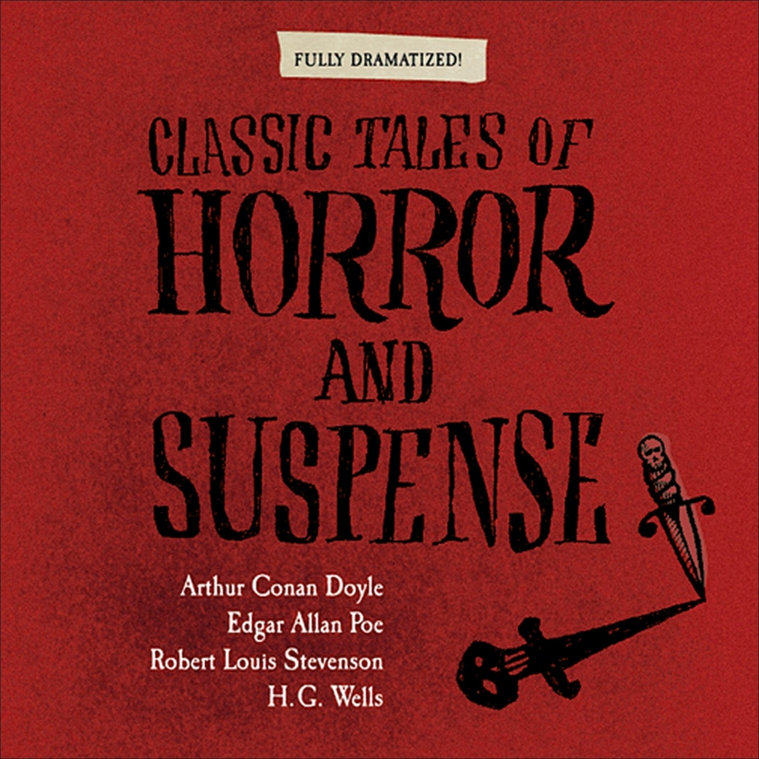 Printable Classic Tales of Horror and Suspense Audiobook Cover Art